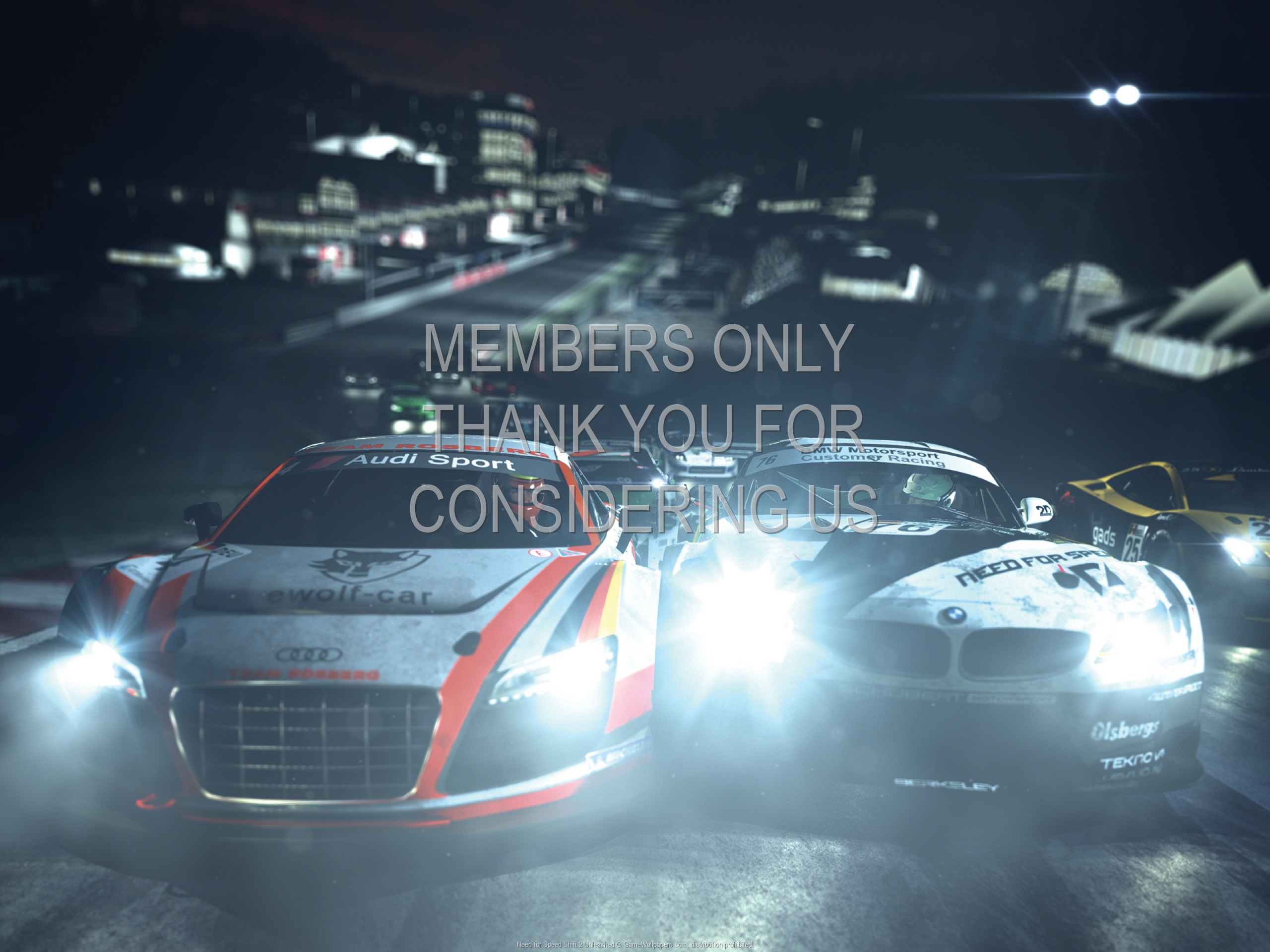 Need for Speed: Shift 2 Unleashed 1920x1080 Mobiele achtergrond 02