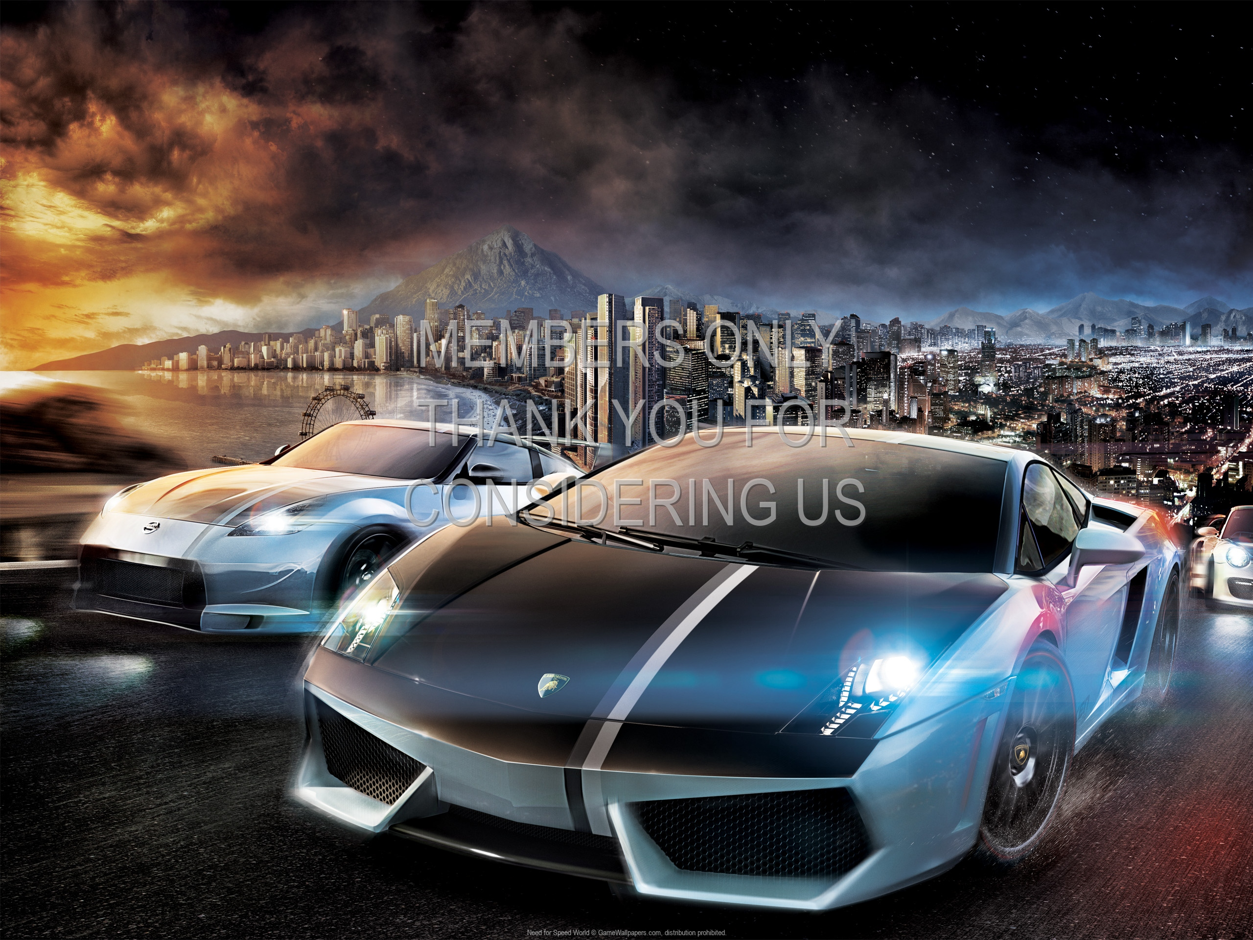 Need for Speed: World 1920x1080 Handy Hintergrundbild 01