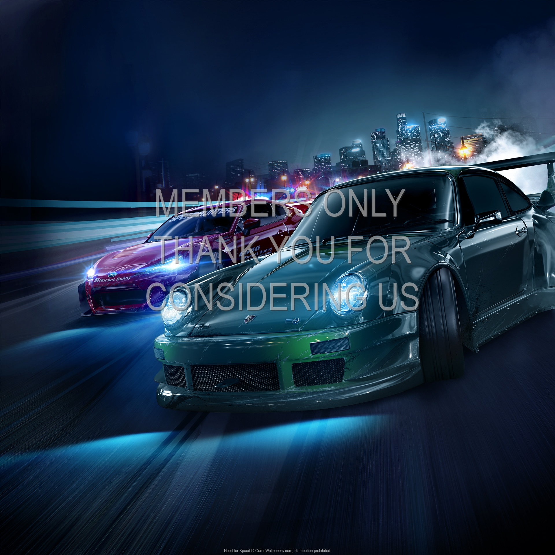 Need for Speed 1920x1080 Mobiele achtergrond 01