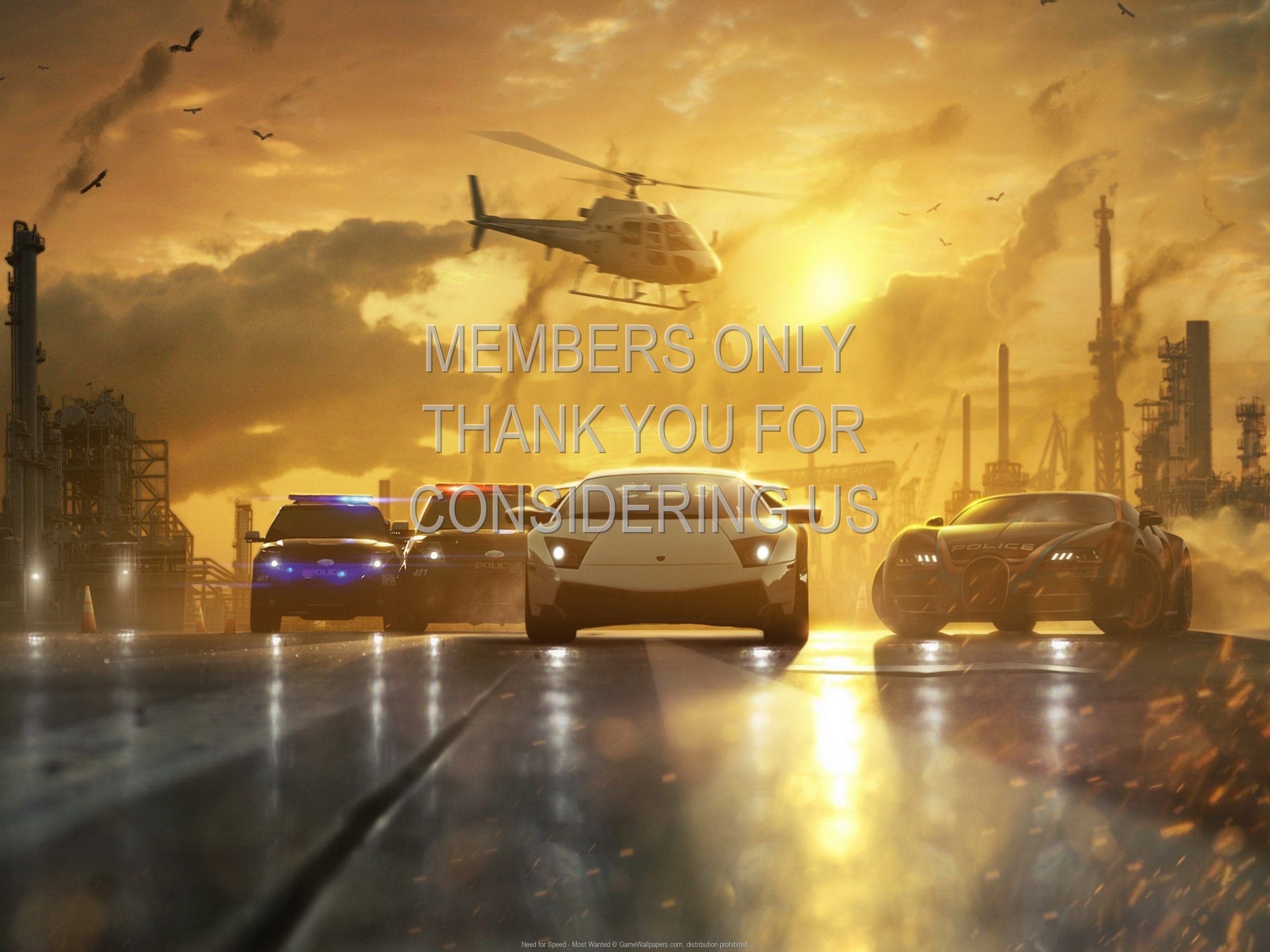 Need for Speed - Most Wanted 1920x1080 Mobiele achtergrond 09