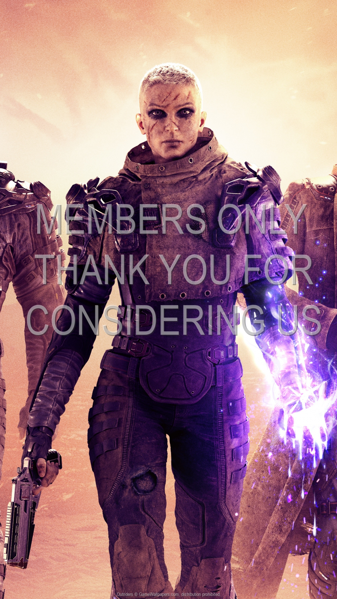 Outriders 1920x1080 Mobiele achtergrond 02