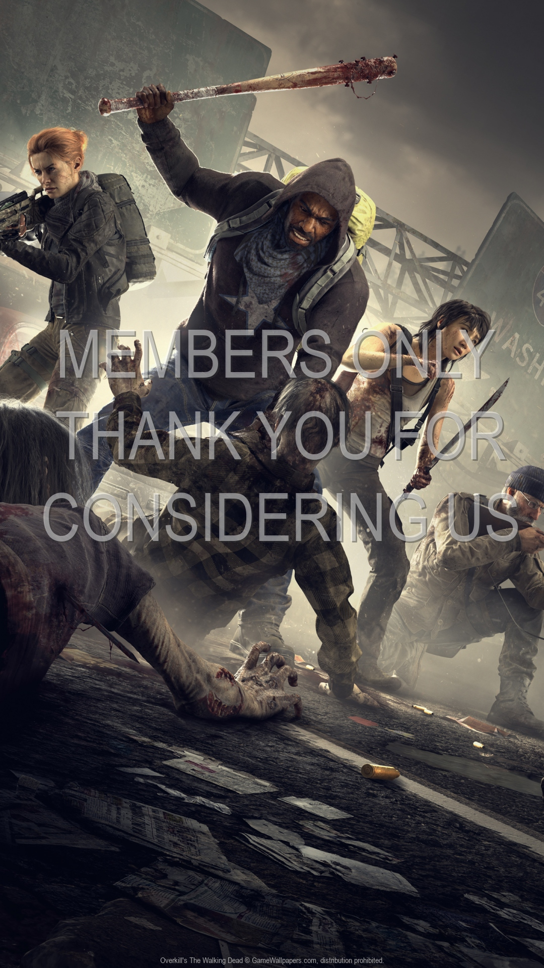 Overkill's The Walking Dead 1920x1080 Mobile wallpaper or background 01