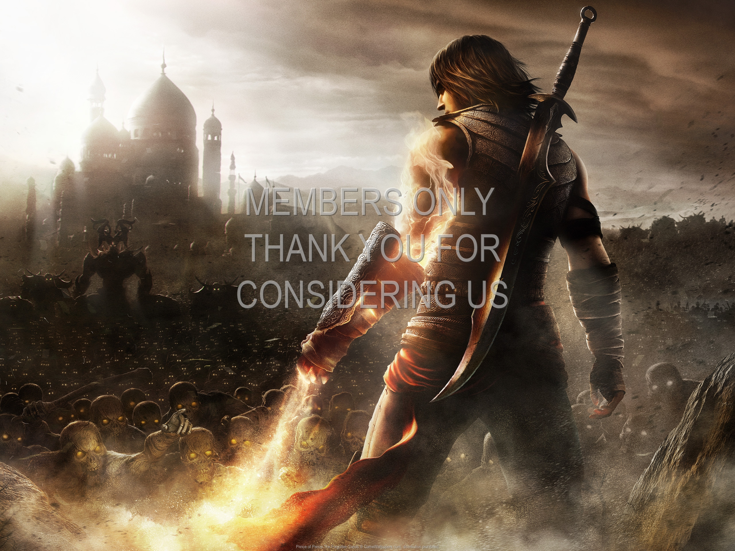 Prince of Persia: The Forgotten Sands 1920x1080 Handy Hintergrundbild 05