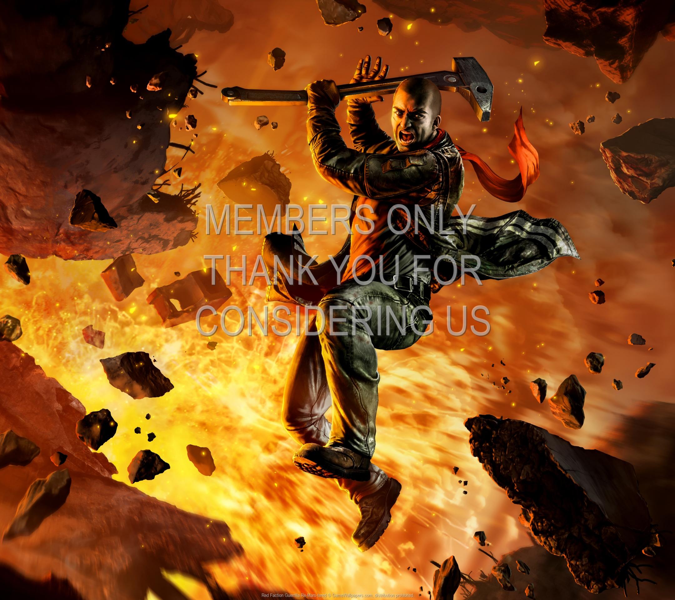 Red Faction: Guerrilla Re-Mars-tered 1920x1080 Mobile fond d'écran 01