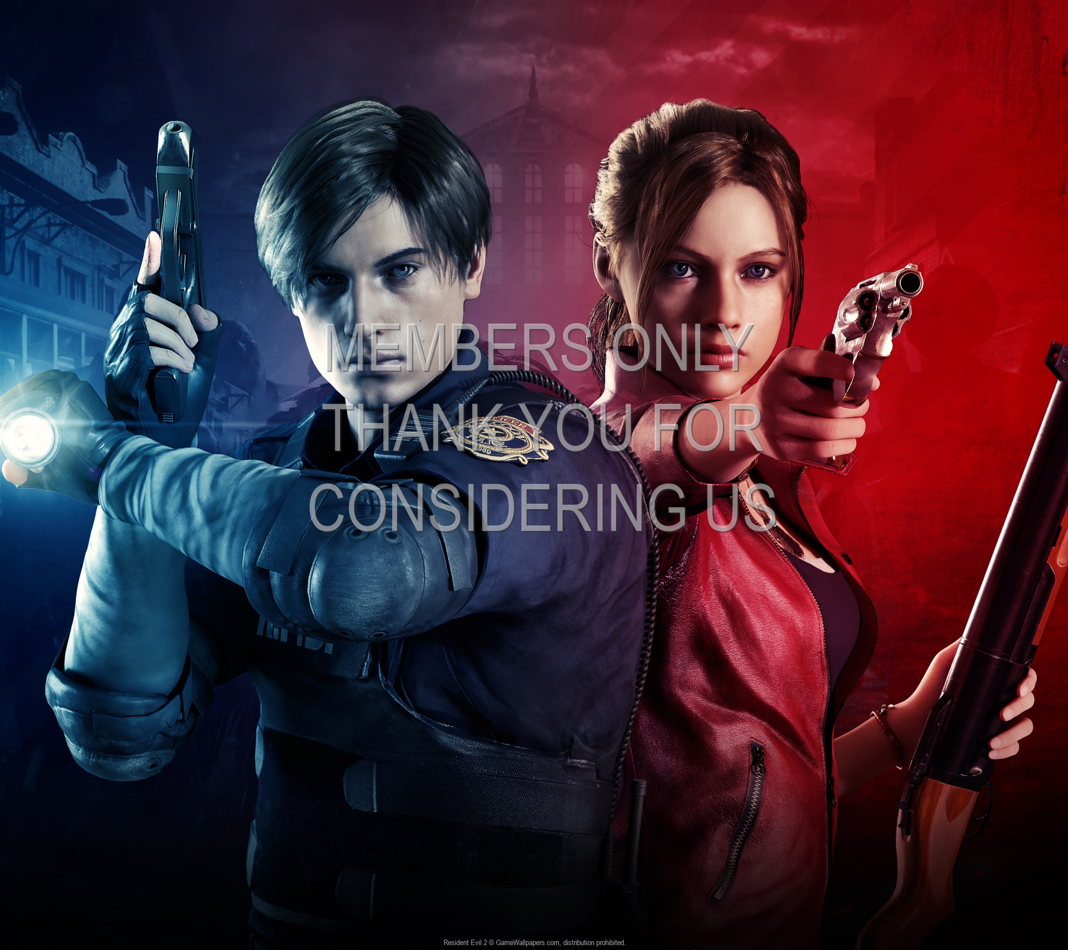 Resident Evil 2 1920x1080 Mobiele achtergrond 05