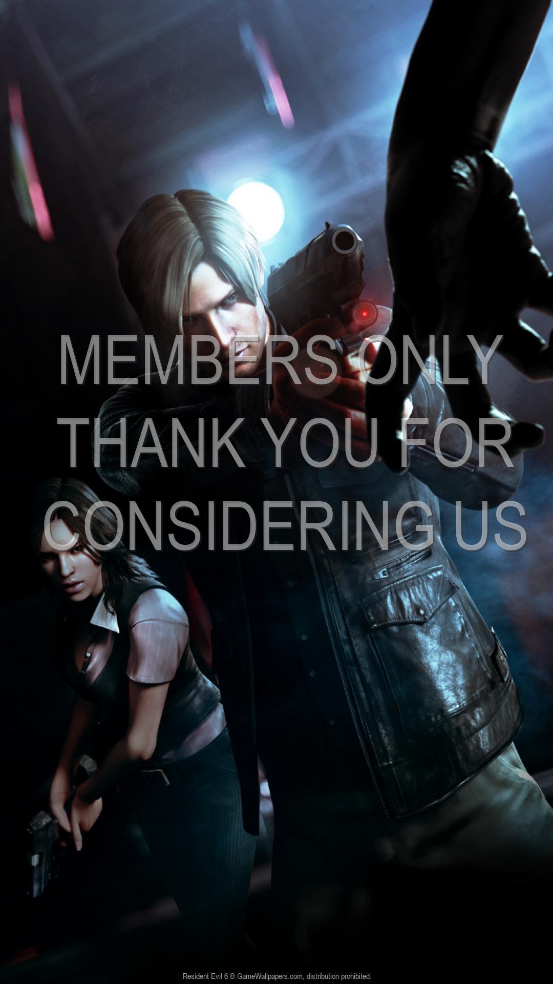 Resident Evil 6 1920x1080 Handy Hintergrundbild 01