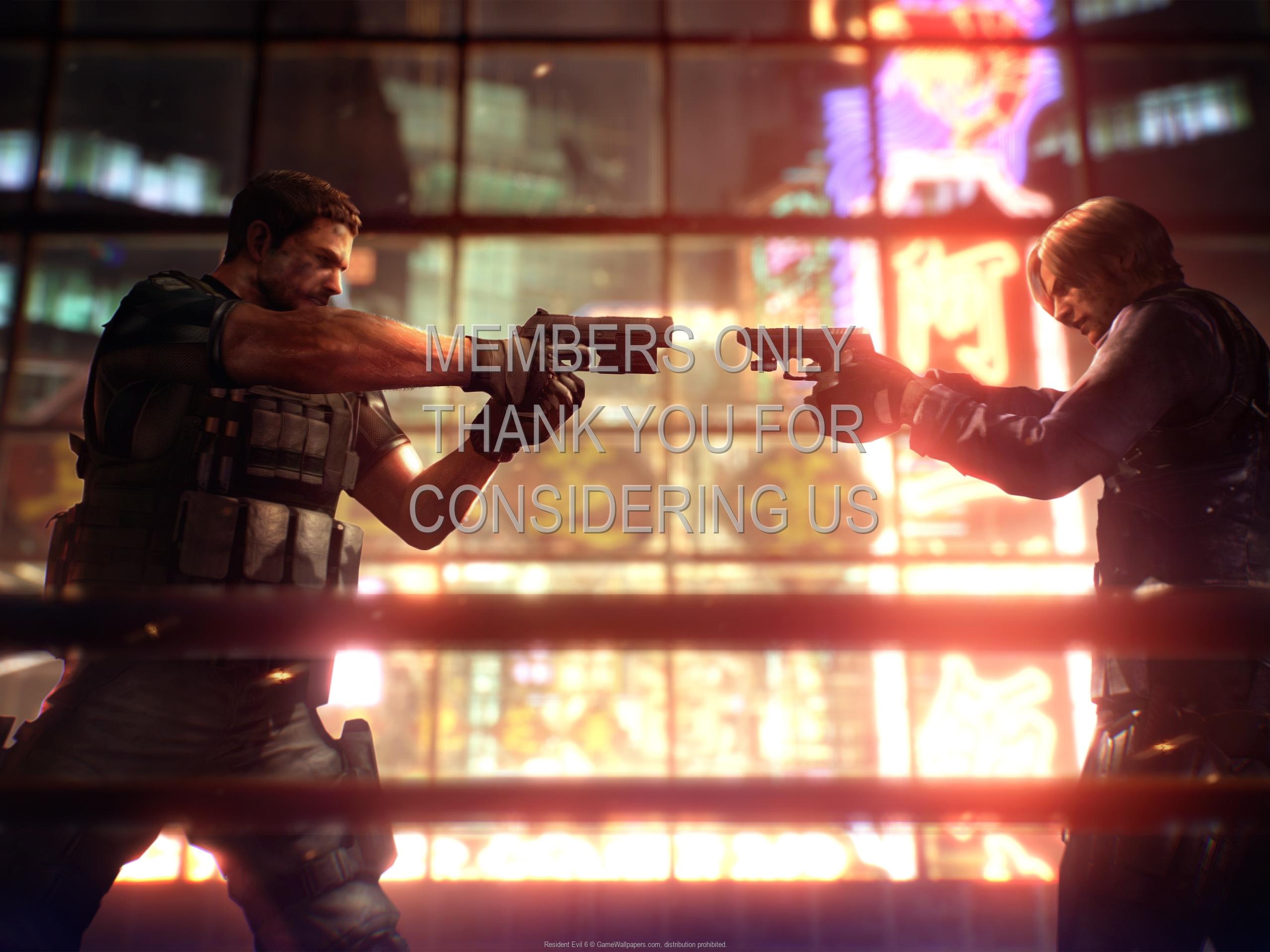 Resident Evil 6 1920x1080 Handy Hintergrundbild 02