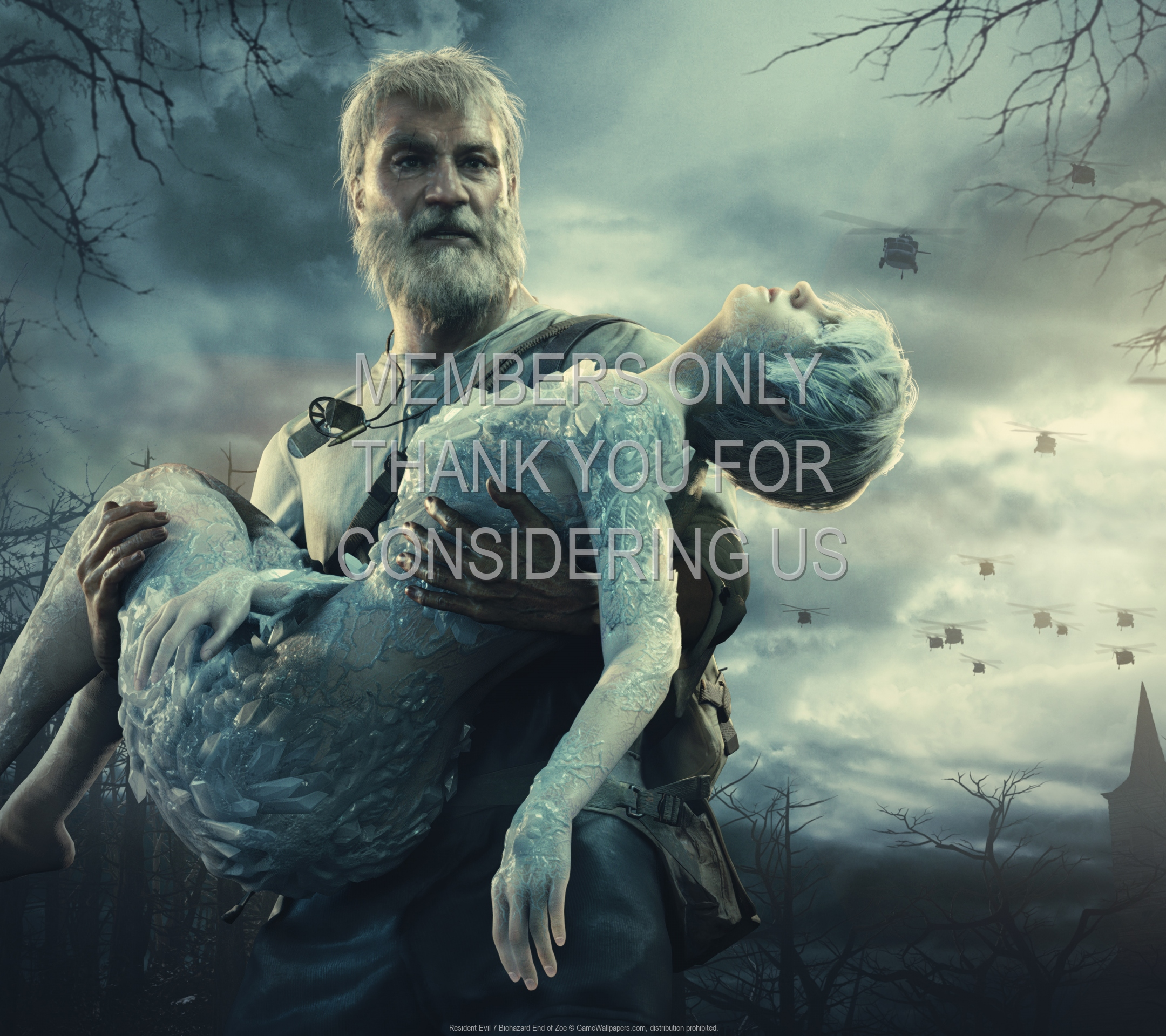 Resident Evil 7 Biohazard End Of Zoe Hintergrundbild 01