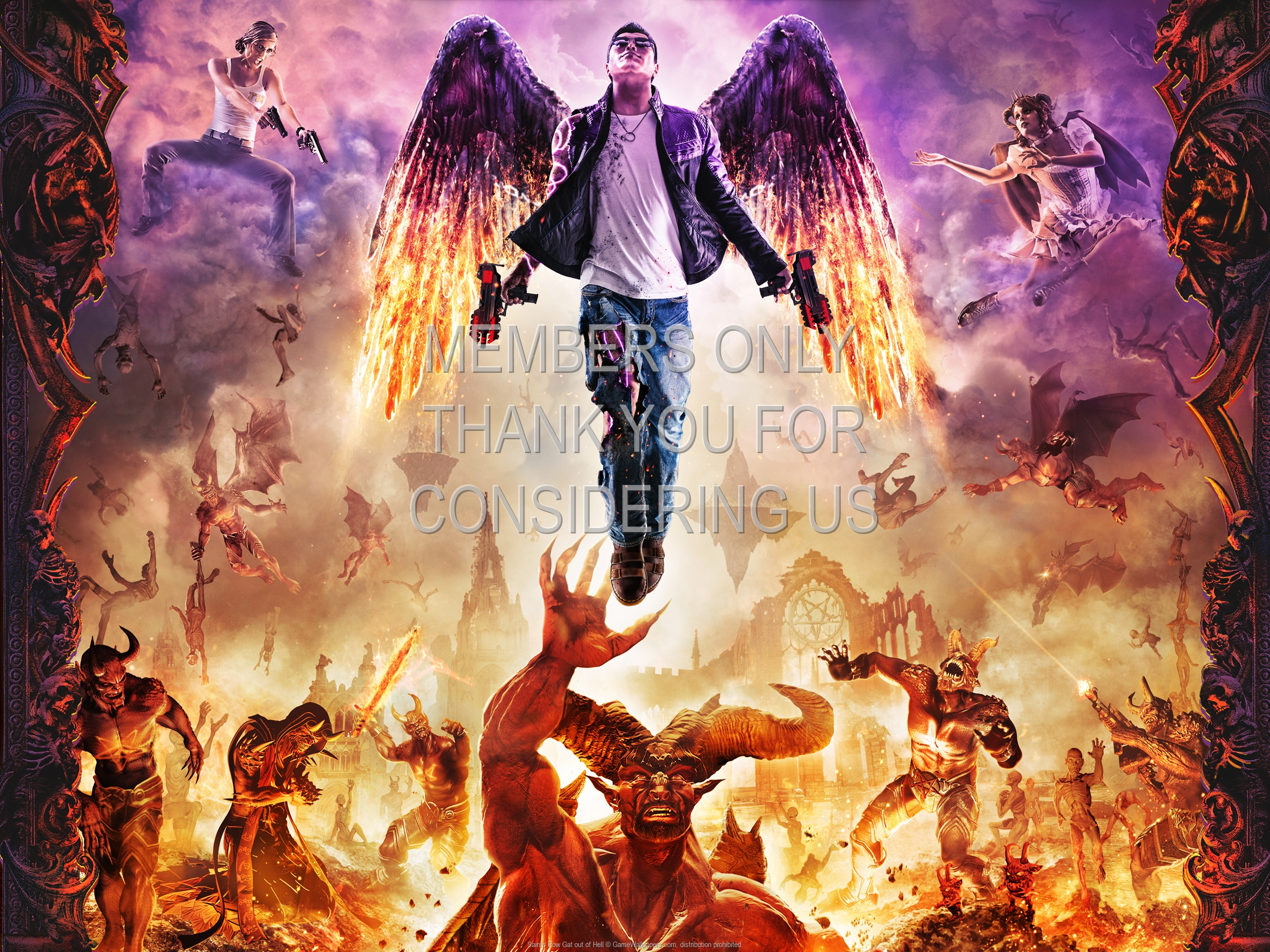 Saints Row Gat Out Of Hell Wallpaper 01 1920x1080