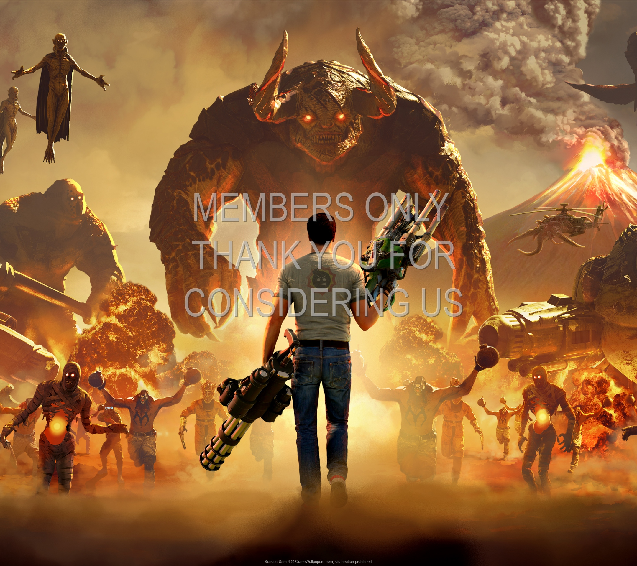 Serious Sam 4 1920x1080 Mobile wallpaper or background 01