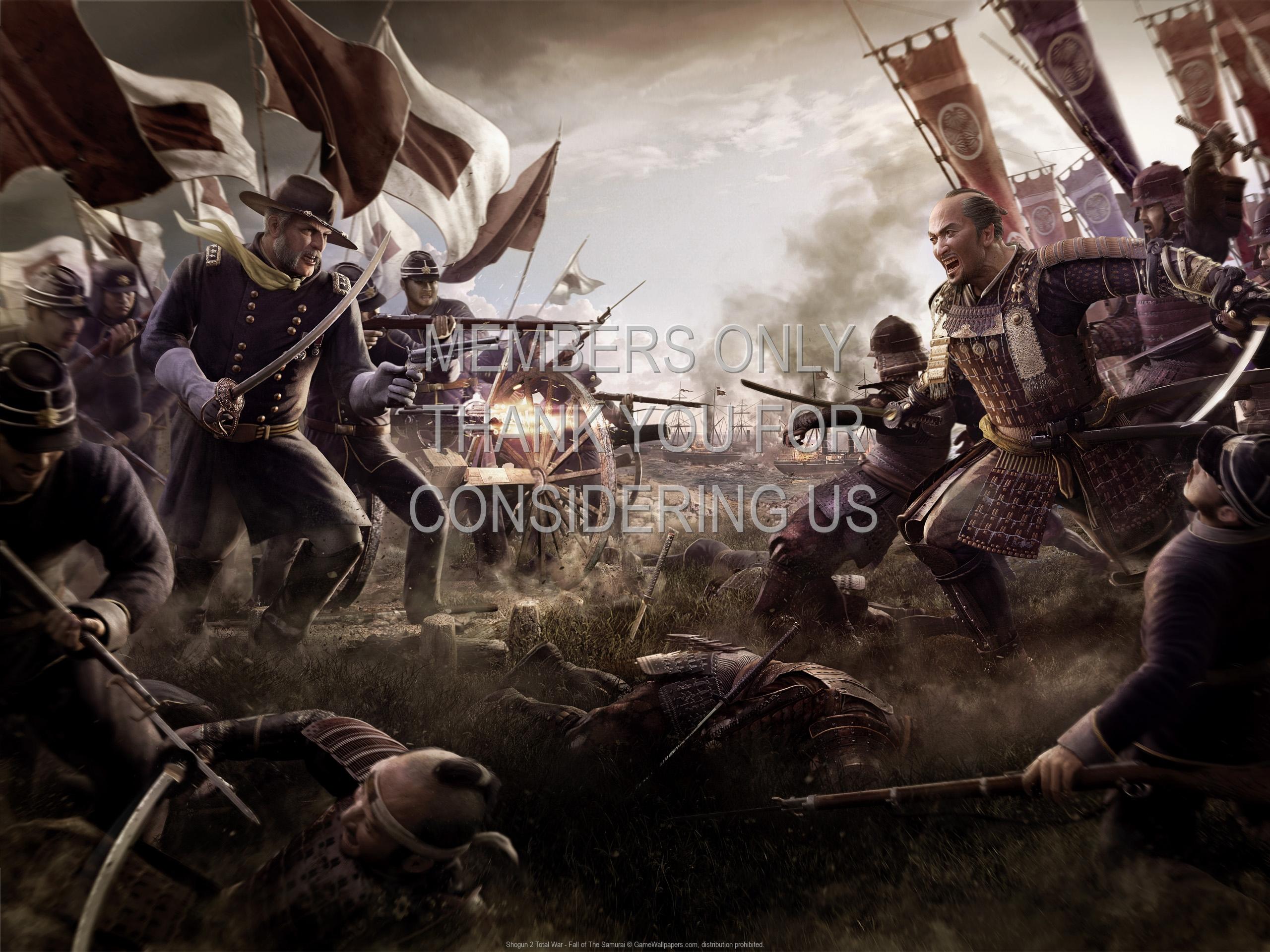 New Total War Shogun 2 Fall Of The Samurai Reveal Trailer