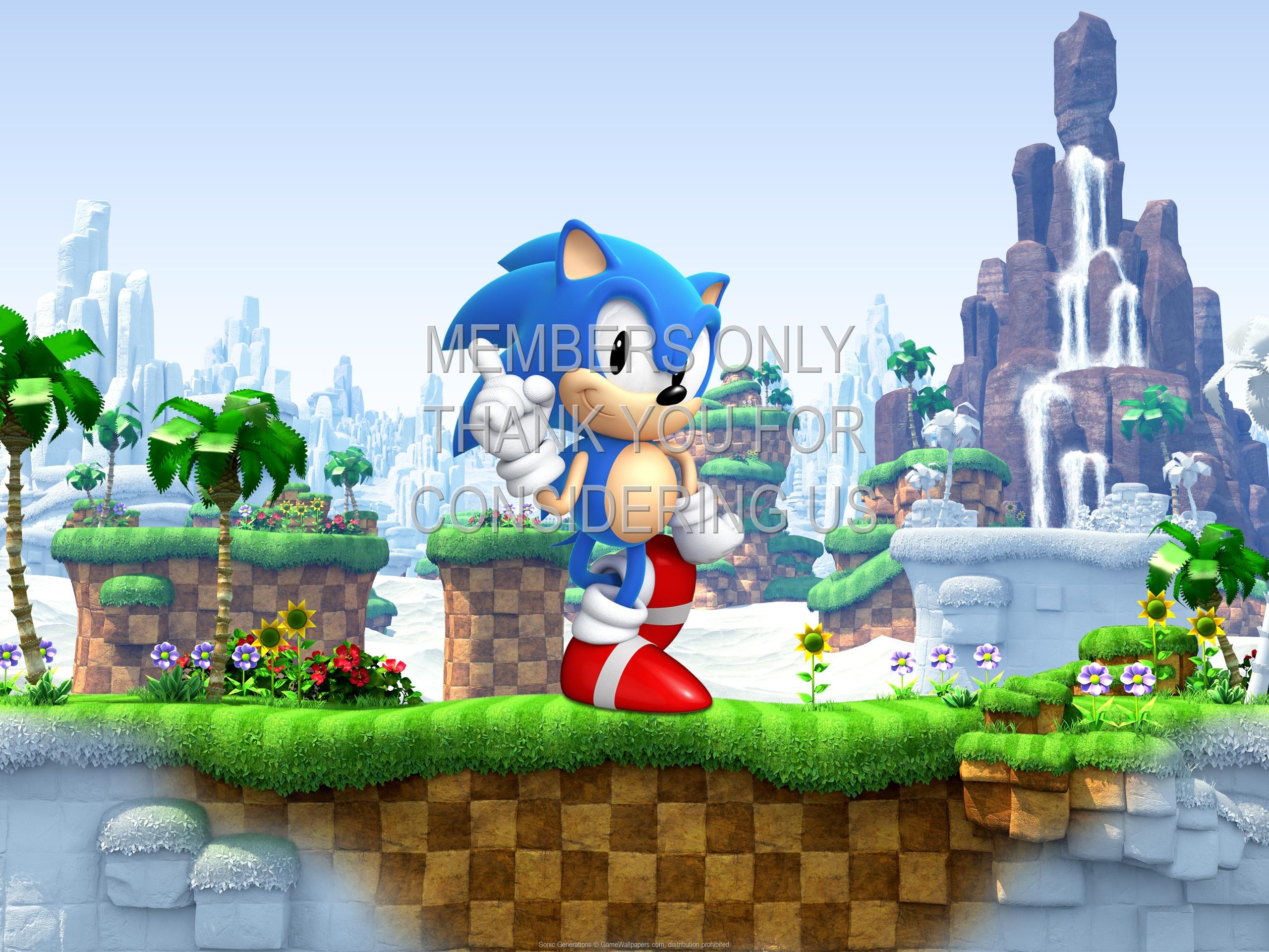 Sonic Generations 1920x1080 Handy Hintergrundbild 01