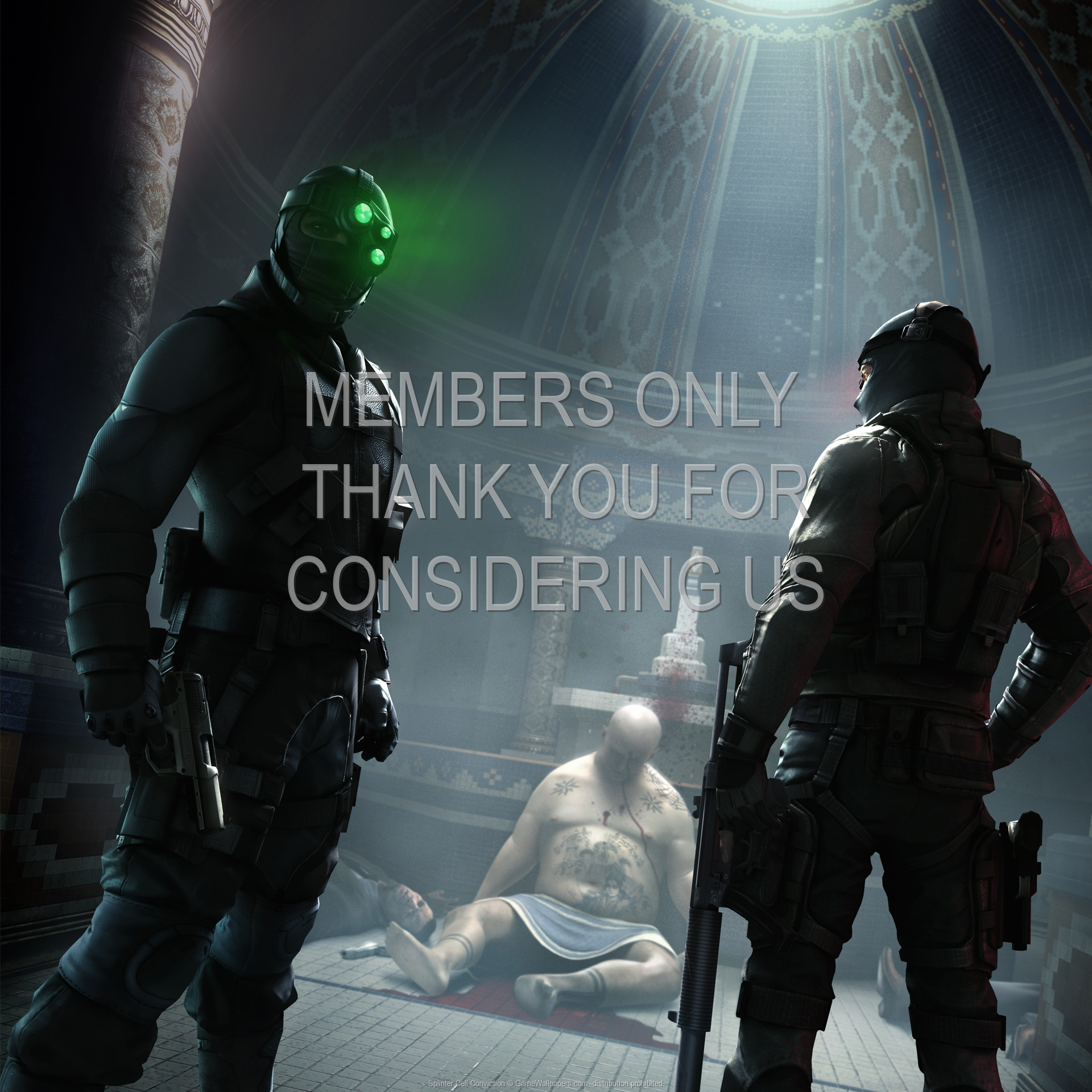 Splinter Cell Conviction 1920x1080 Mobile Wallpaper Or Background 07