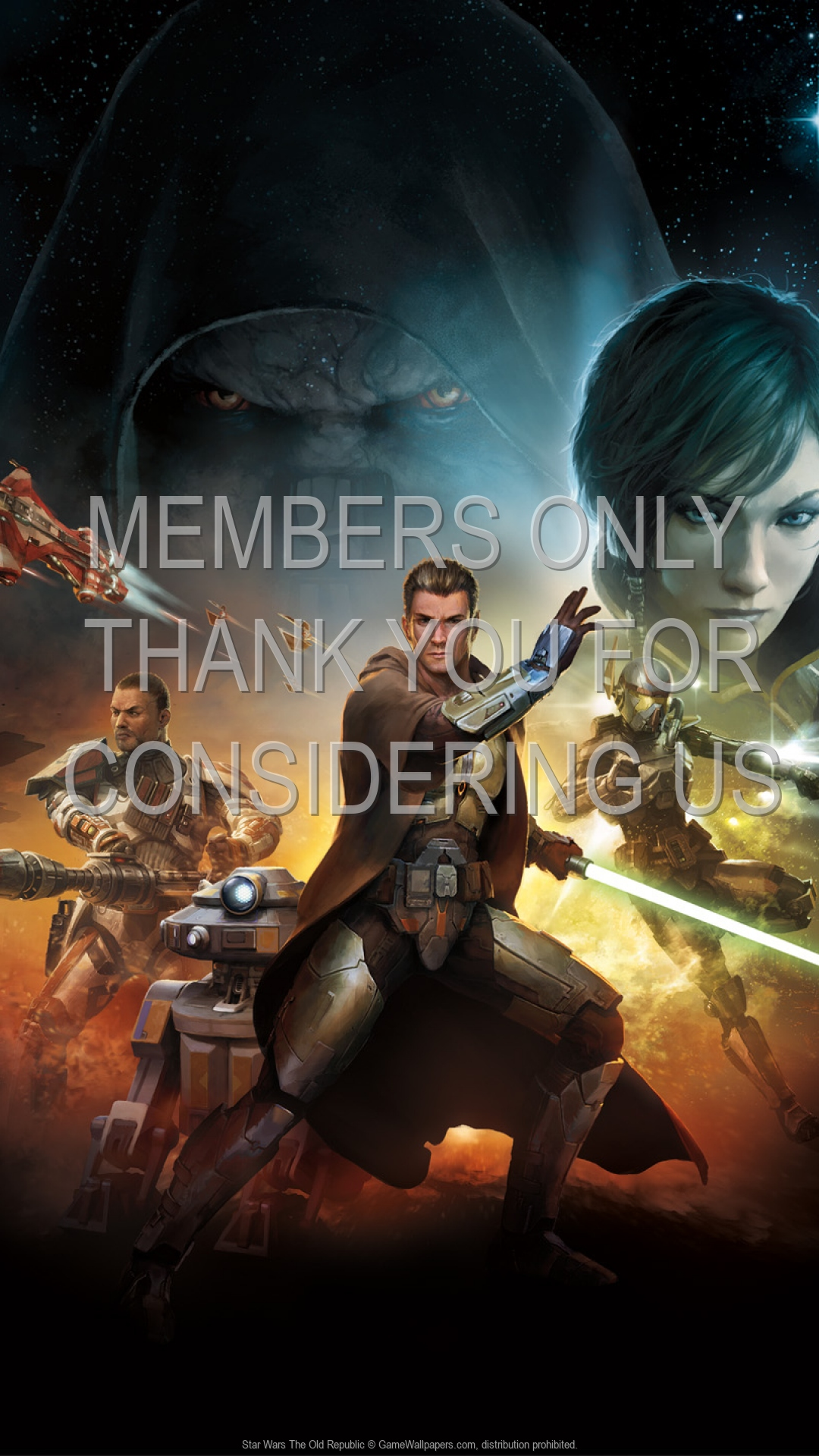 Star Wars: The Old Republic 1920x1080 Mobile wallpaper or background 04