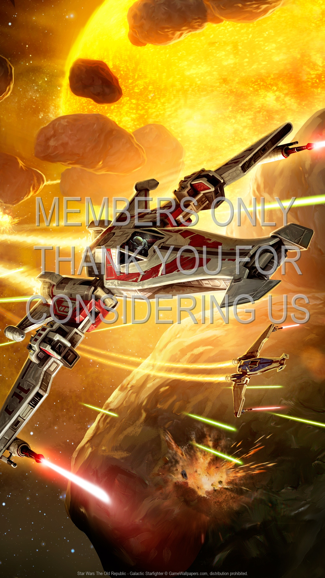 Star Wars The Old Republic Galactic Starfighter Wallpaper 01