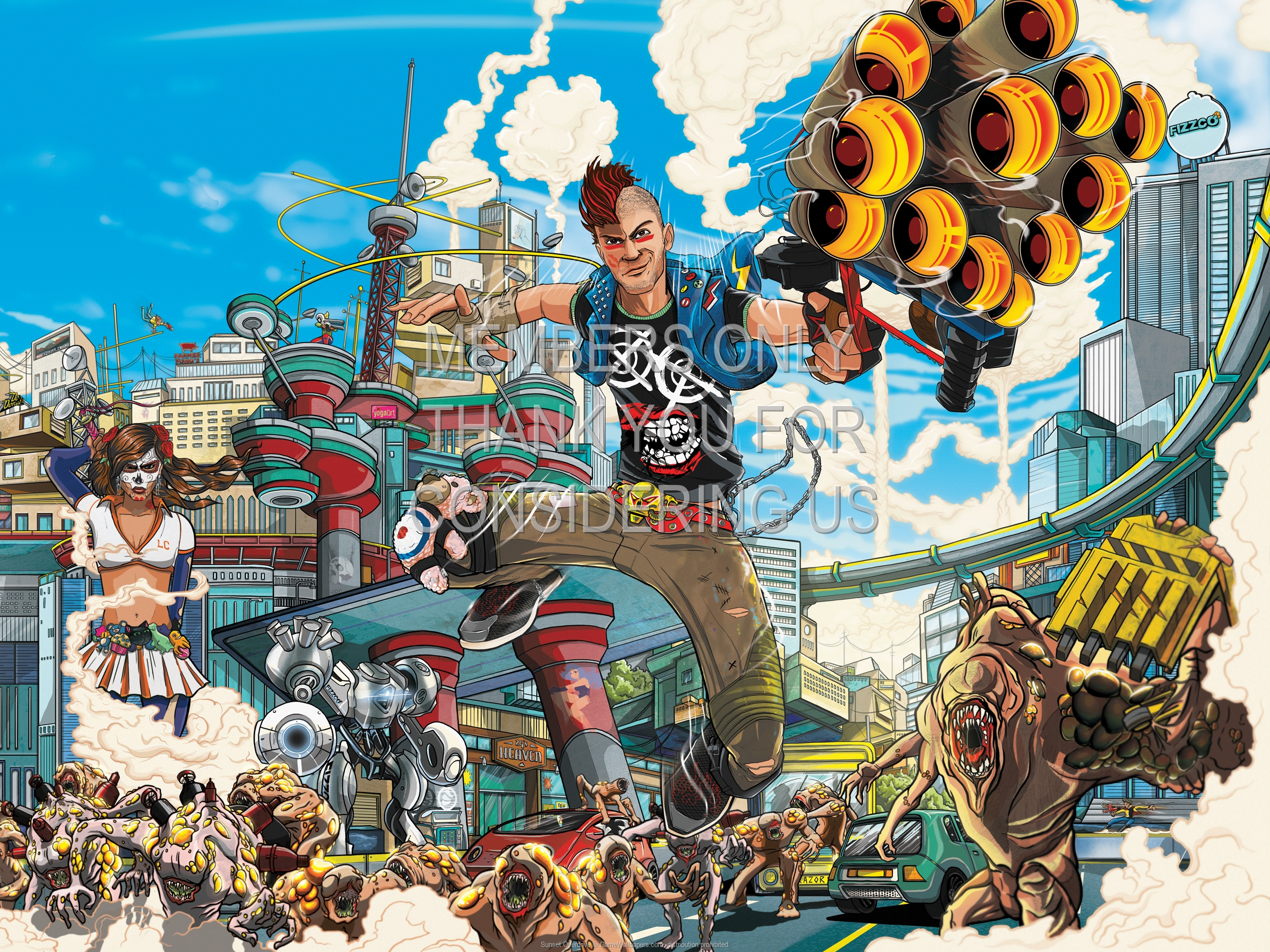 Sunset Overdrive 1920x1080 Handy Hintergrundbild 01