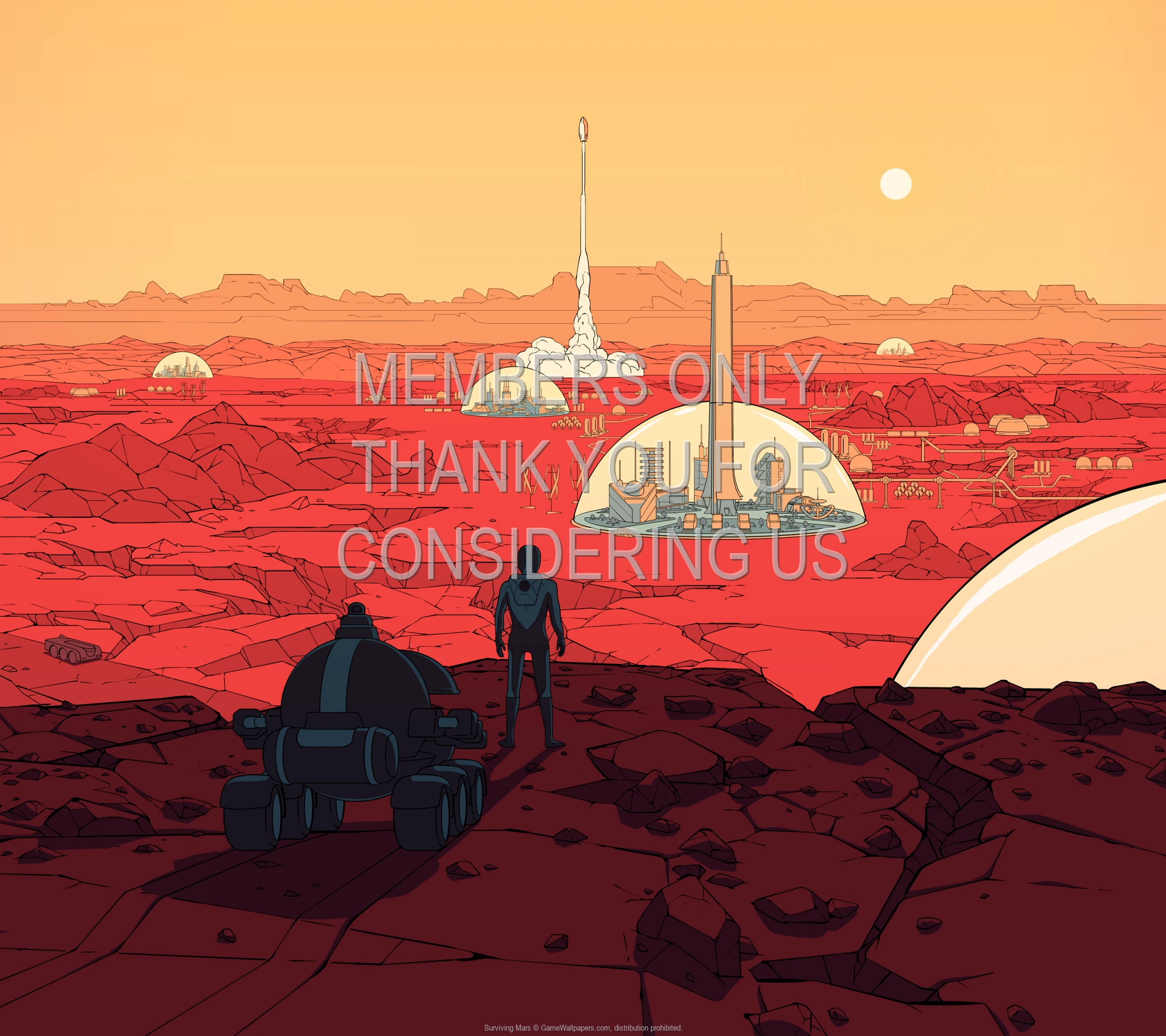 Surviving Mars 1920x1080 Mobile wallpaper or background 01