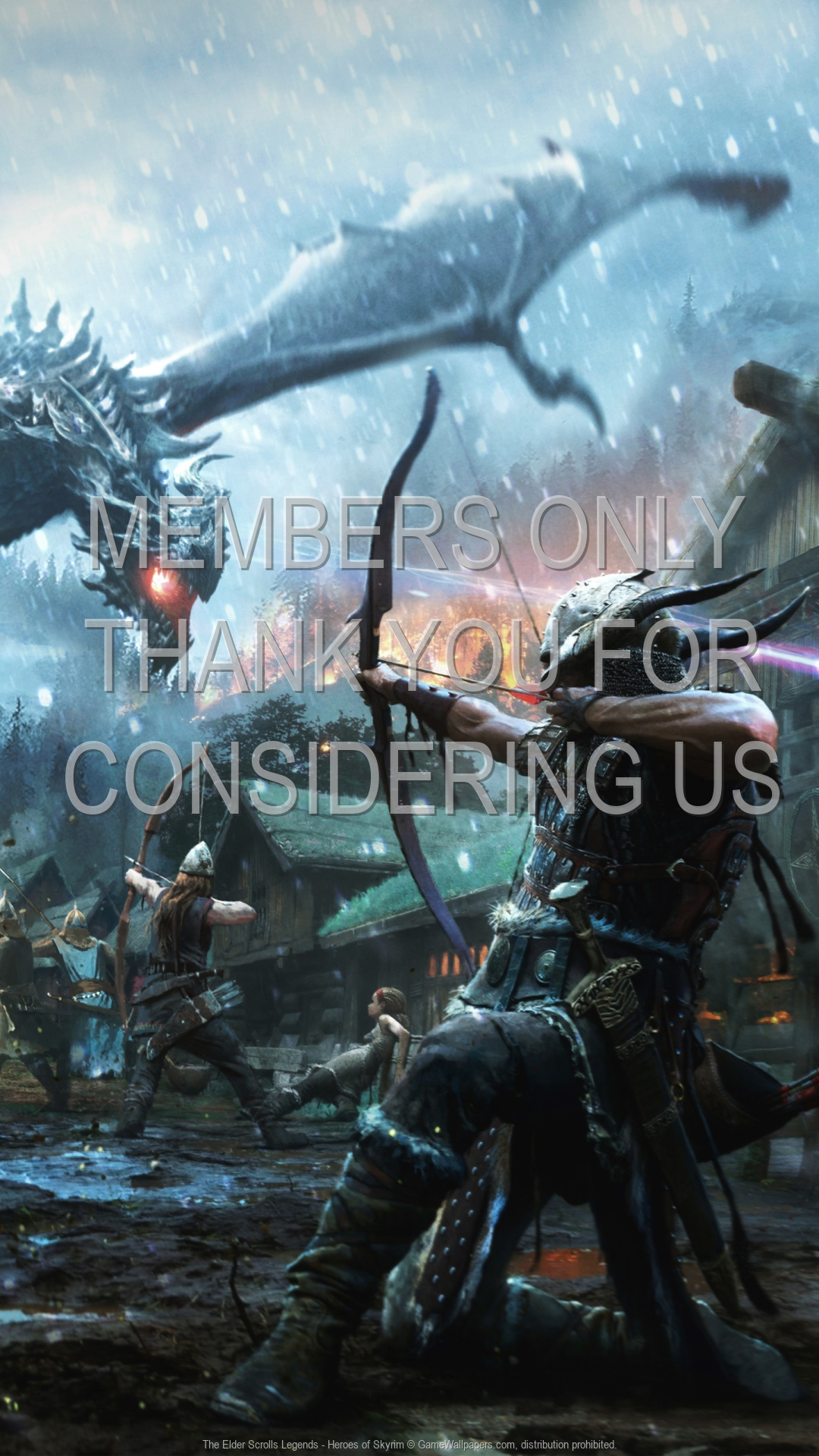 The Elder Scrolls: Legends - Heroes of Skyrim 1920x1080 Mobile wallpaper or background 01