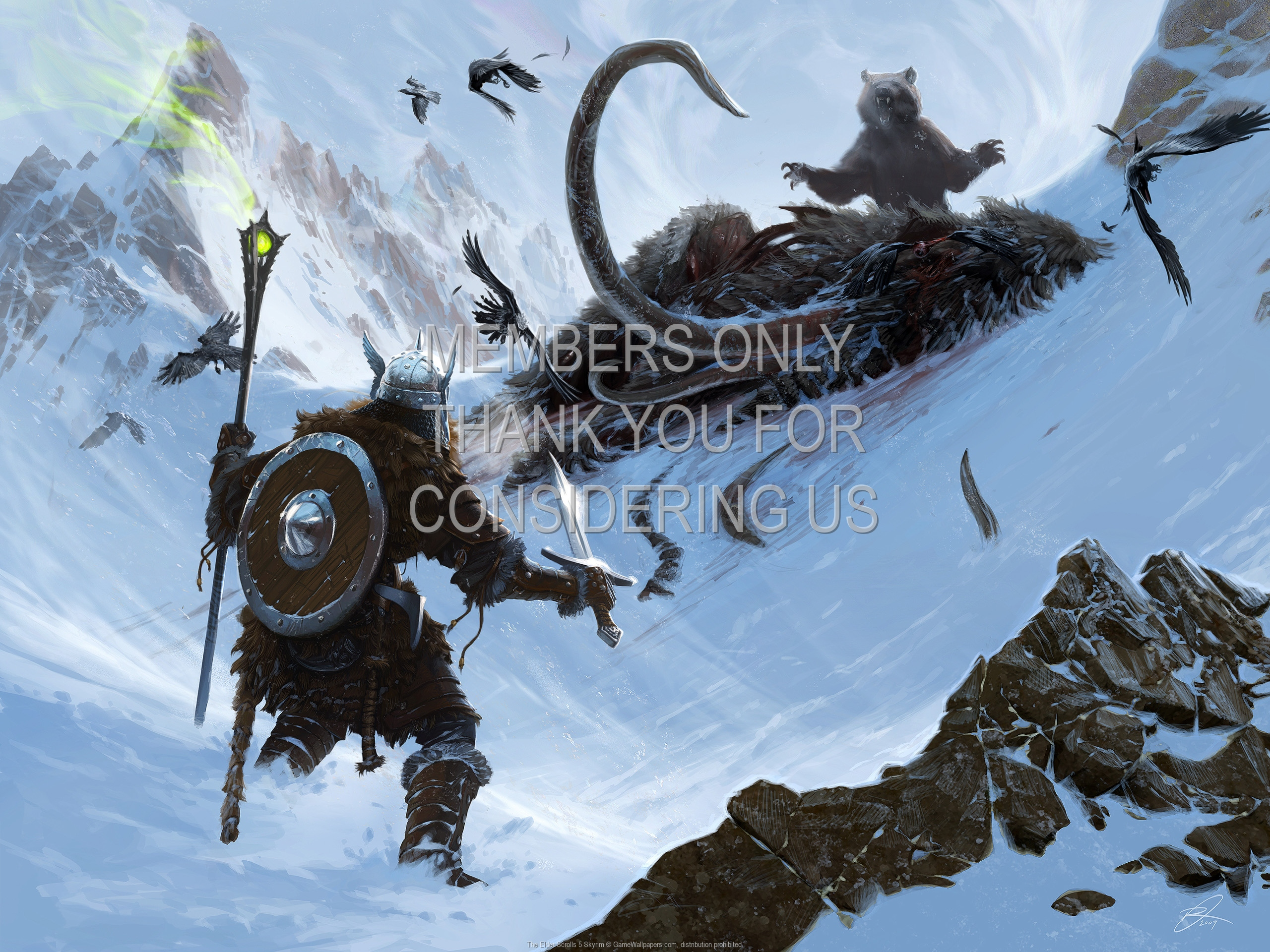 The Elder Scrolls 5: Skyrim 1920x1080 Handy Hintergrundbild 02