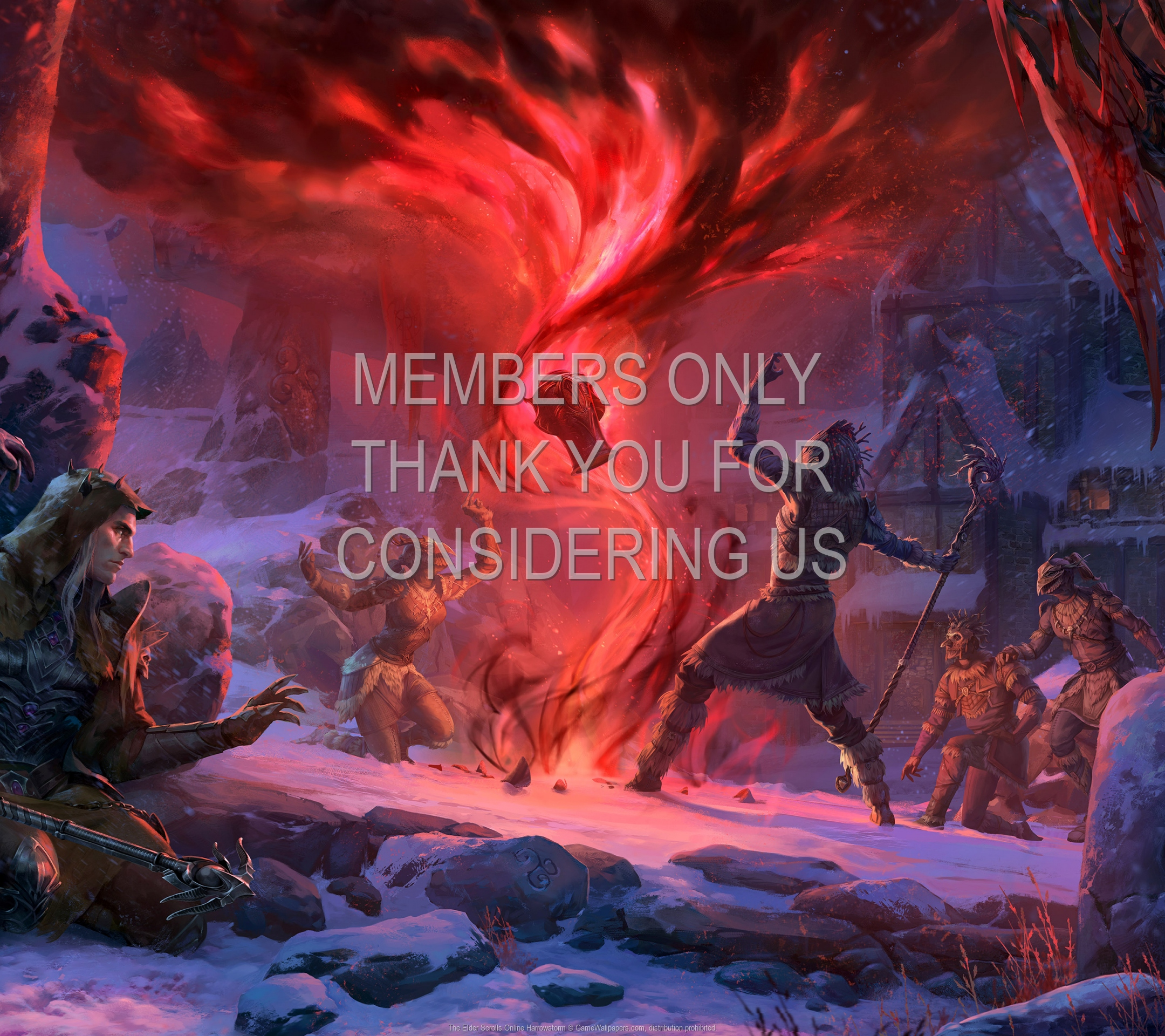 The Elder Scrolls Online: Harrowstorm 1920x1080 Handy Hintergrundbild 01
