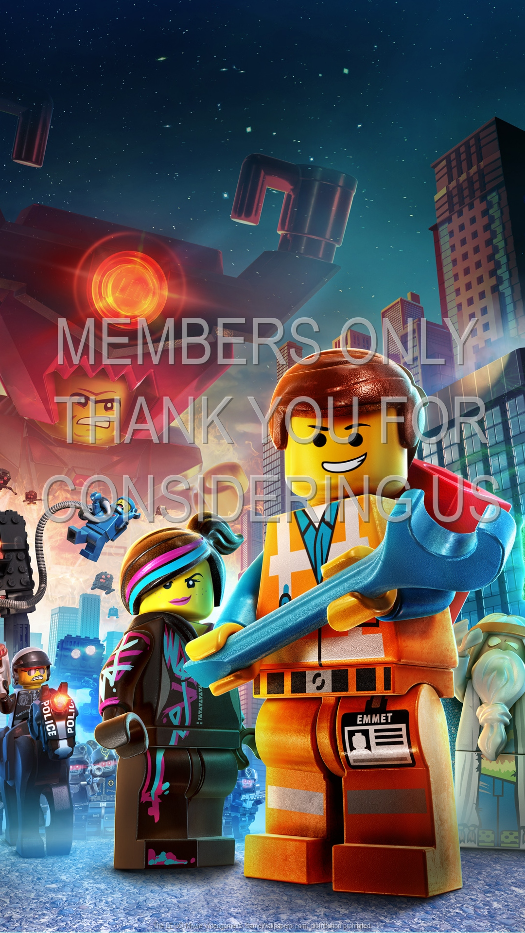 The Lego Movie Videogame Wallpaper 01 1920x1080