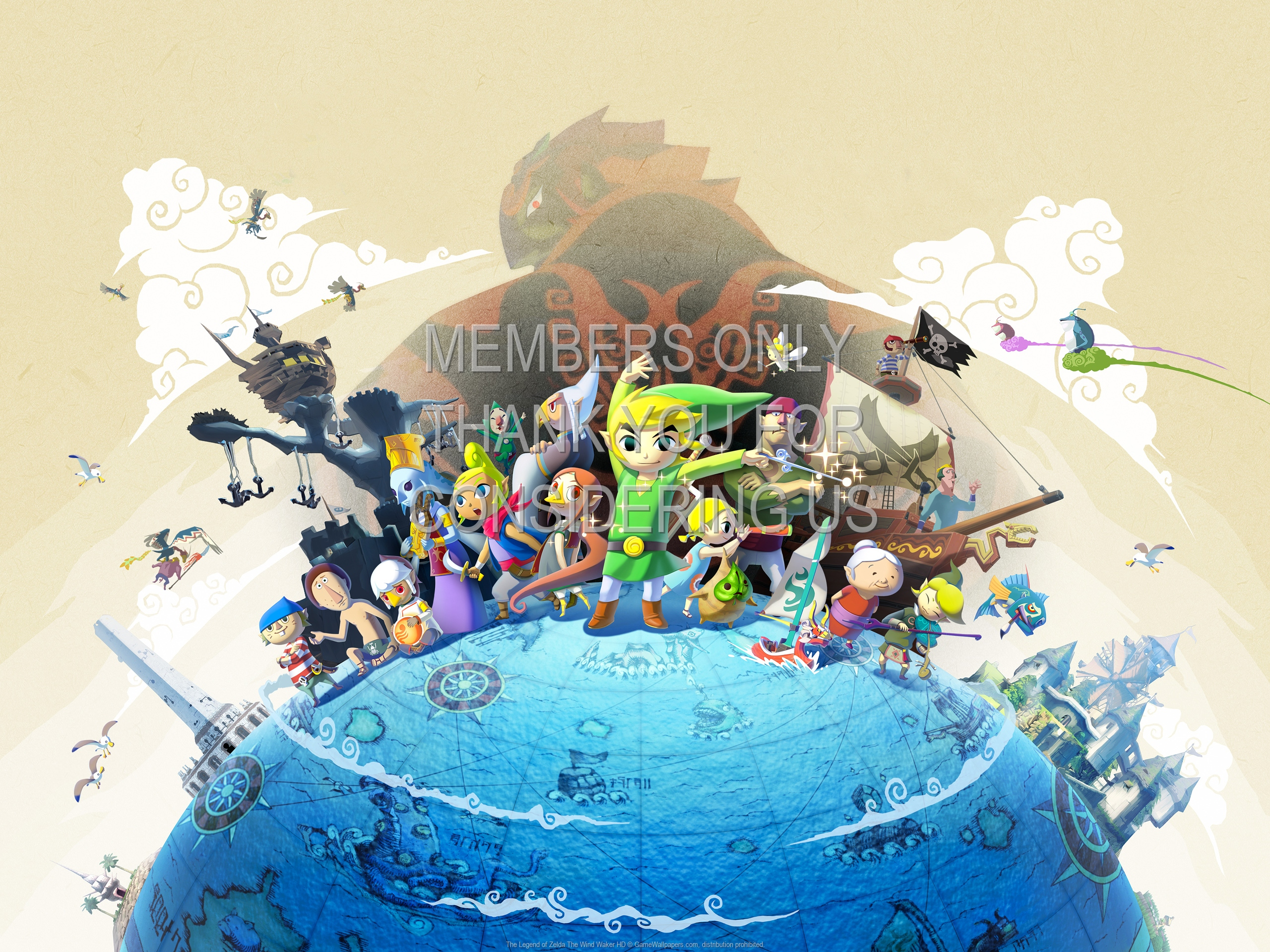 The Legend Of Zelda The Wind Waker Hd Wallpaper 01 1920x1080