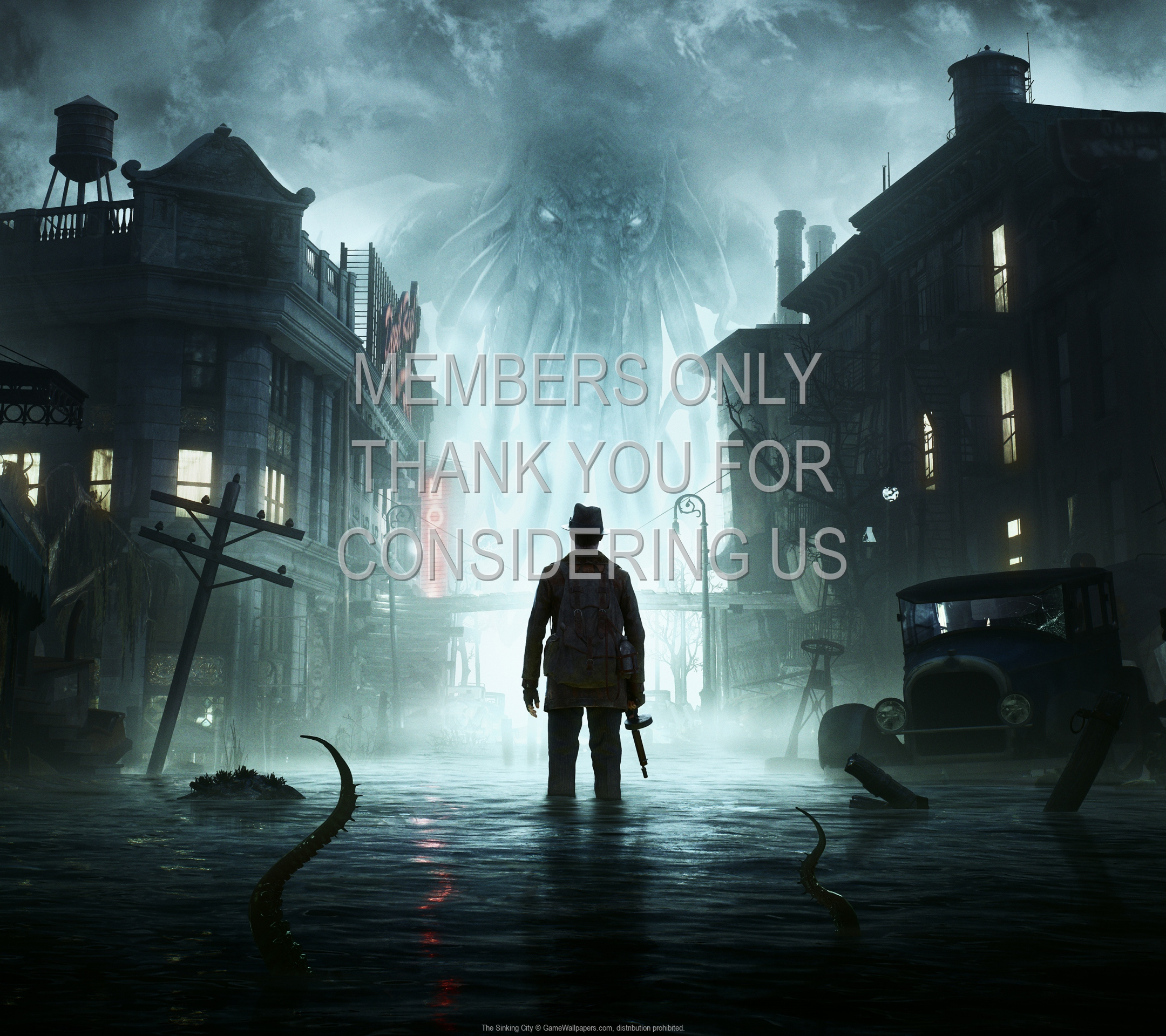 The Sinking City 1920x1080 Mobiele achtergrond 01