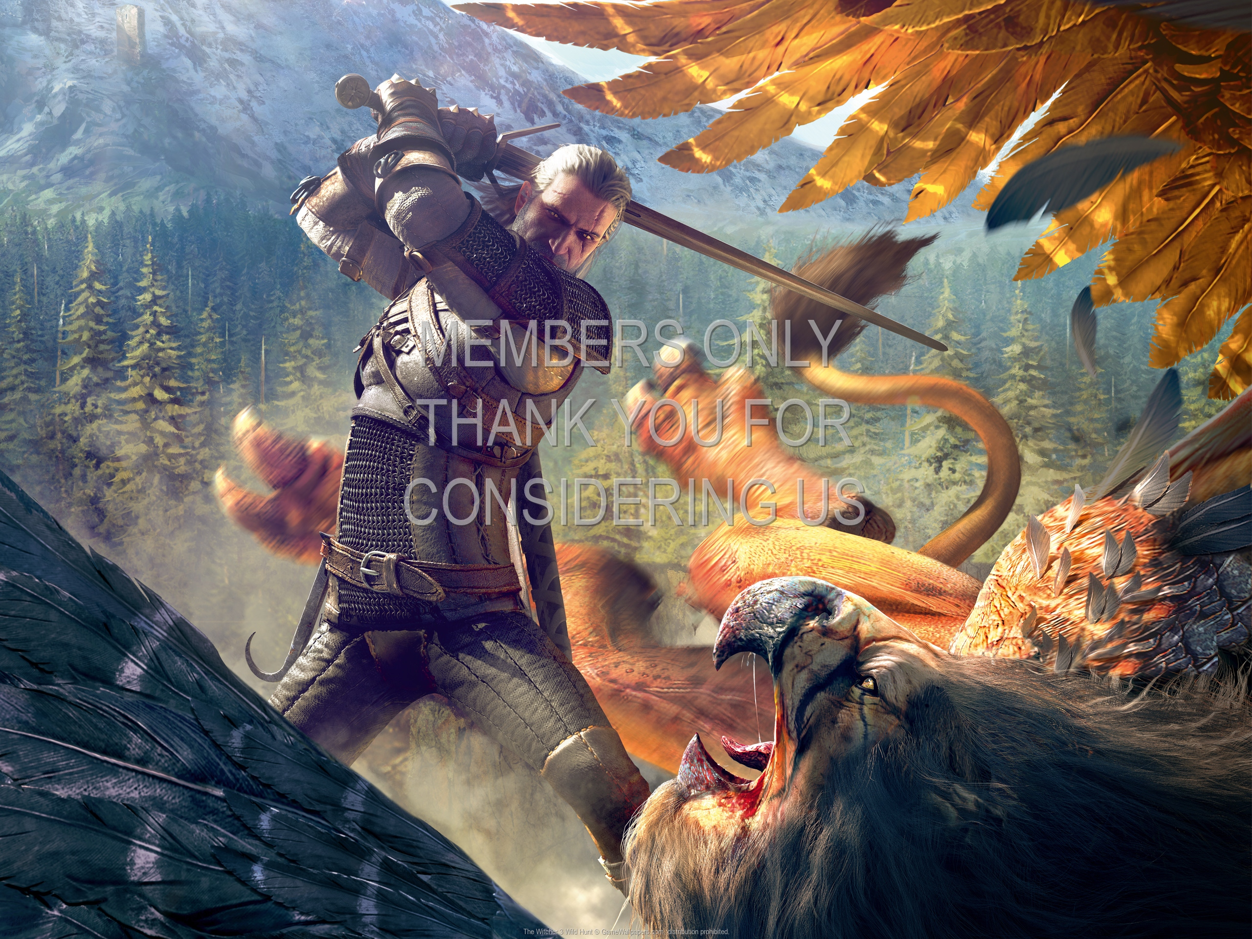 The Witcher 3: Wild Hunt 1920x1080 Mobiele achtergrond 29