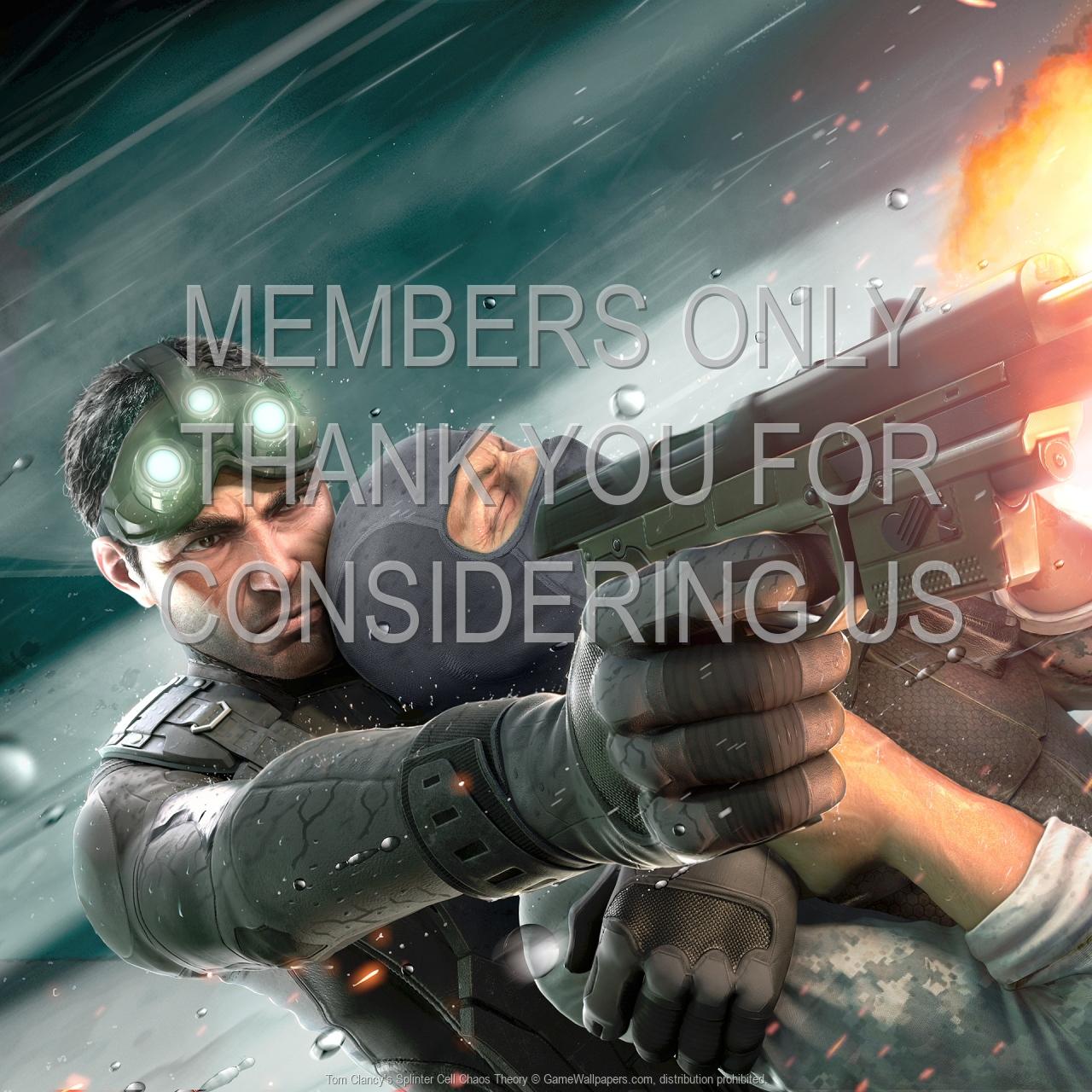 Tom Clancy S Splinter Cell Chaos Theory Wallpaper 01 1600x1200
