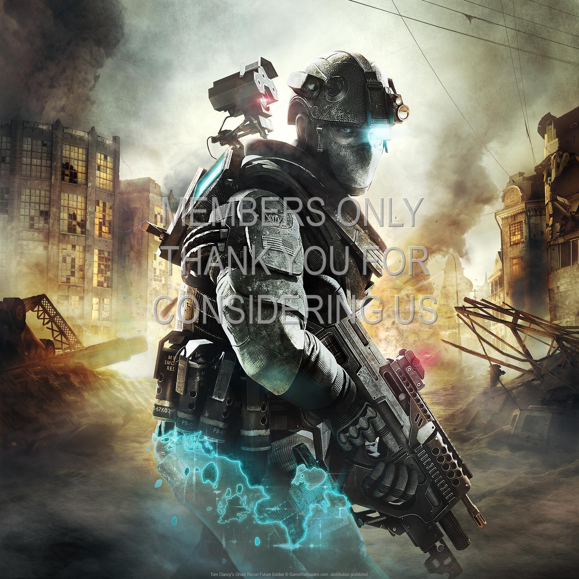 Tom Clancy's Ghost Recon: Future Soldier 1920x1080 Handy Hintergrundbild 02