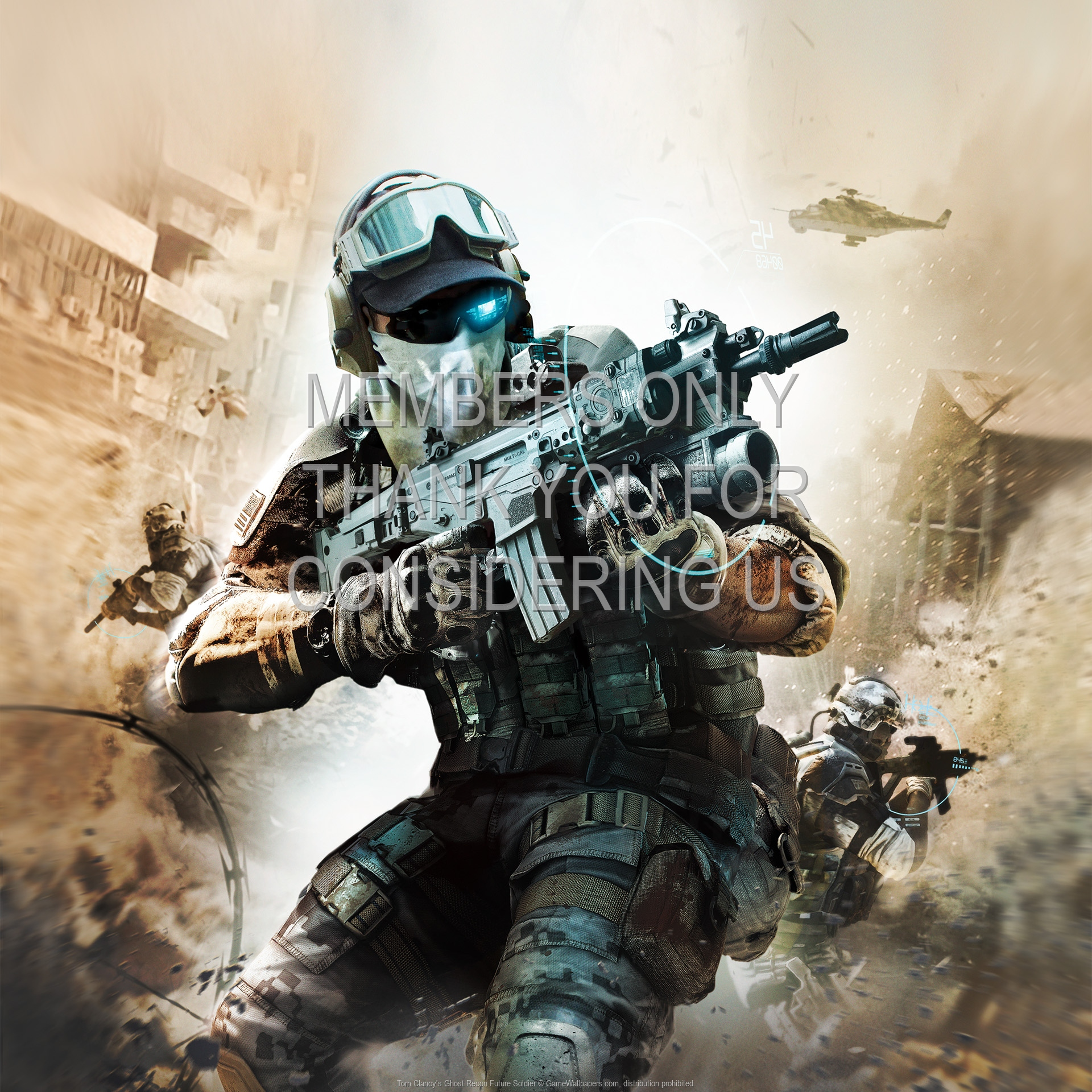 Tom Clancy's Ghost Recon: Future Soldier 1920x1080 Handy Hintergrundbild 06