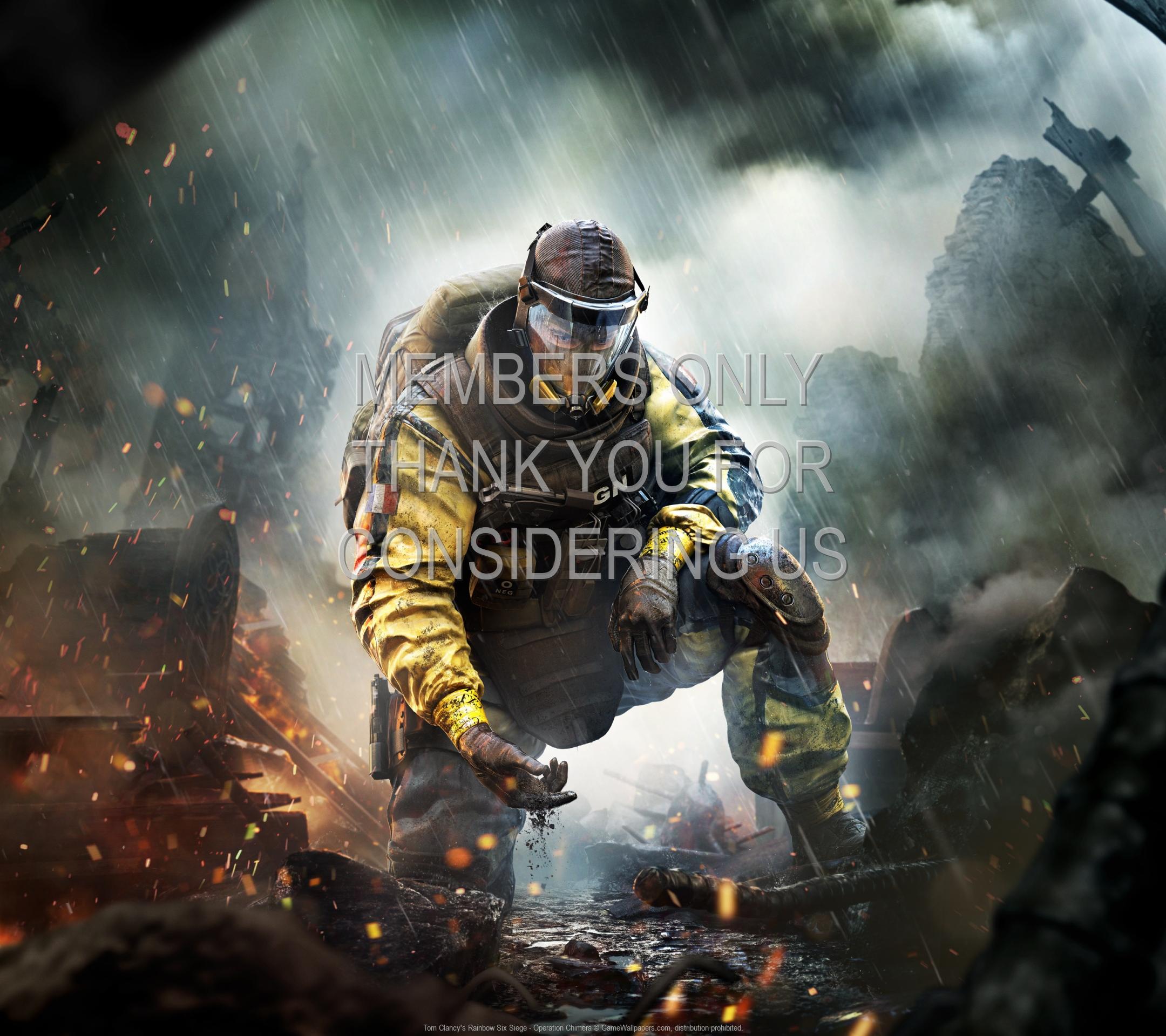 Tom Clancy's Rainbow Six: Siege - Operation Chimera 1920x1080 Mobile fond d'écran 04