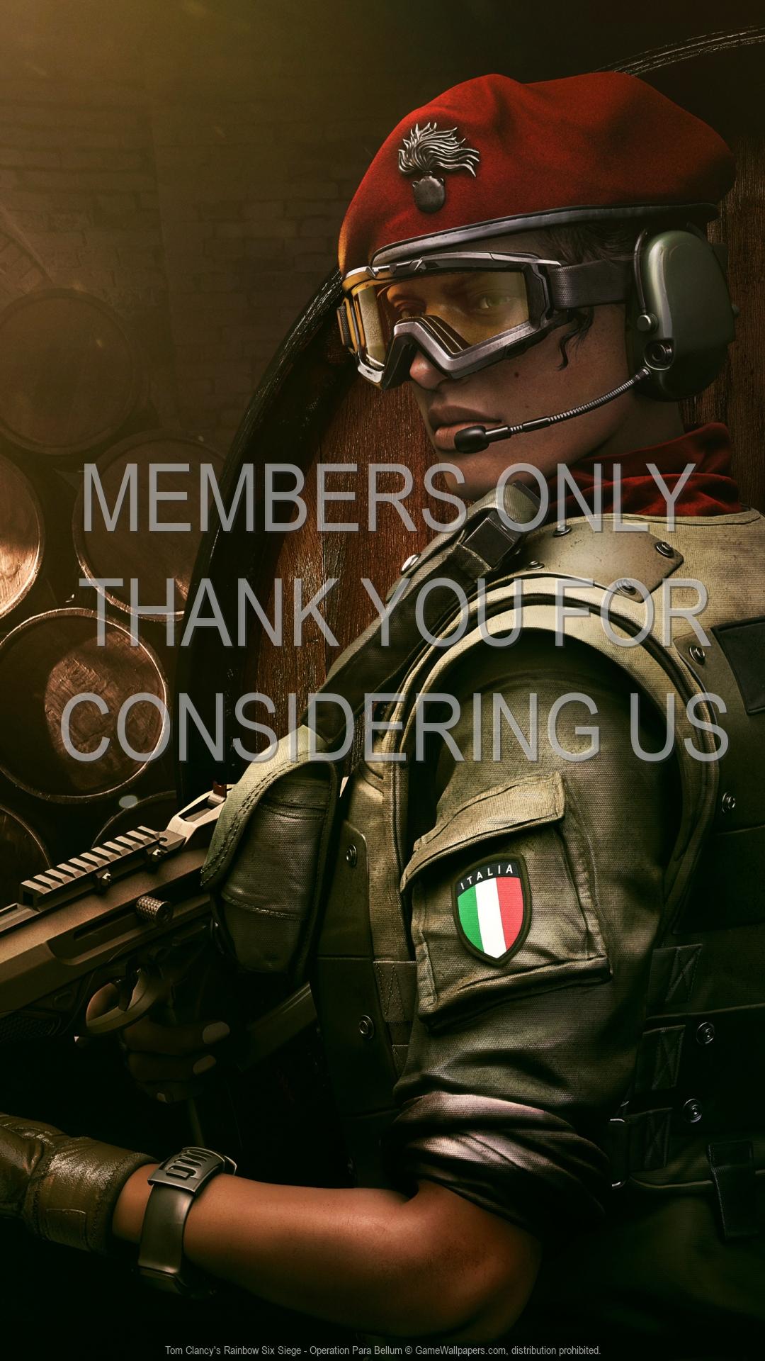 Tom Clancy's Rainbow Six: Siege - Operation Para Bellum 1920x1080 Mobiele achtergrond 02