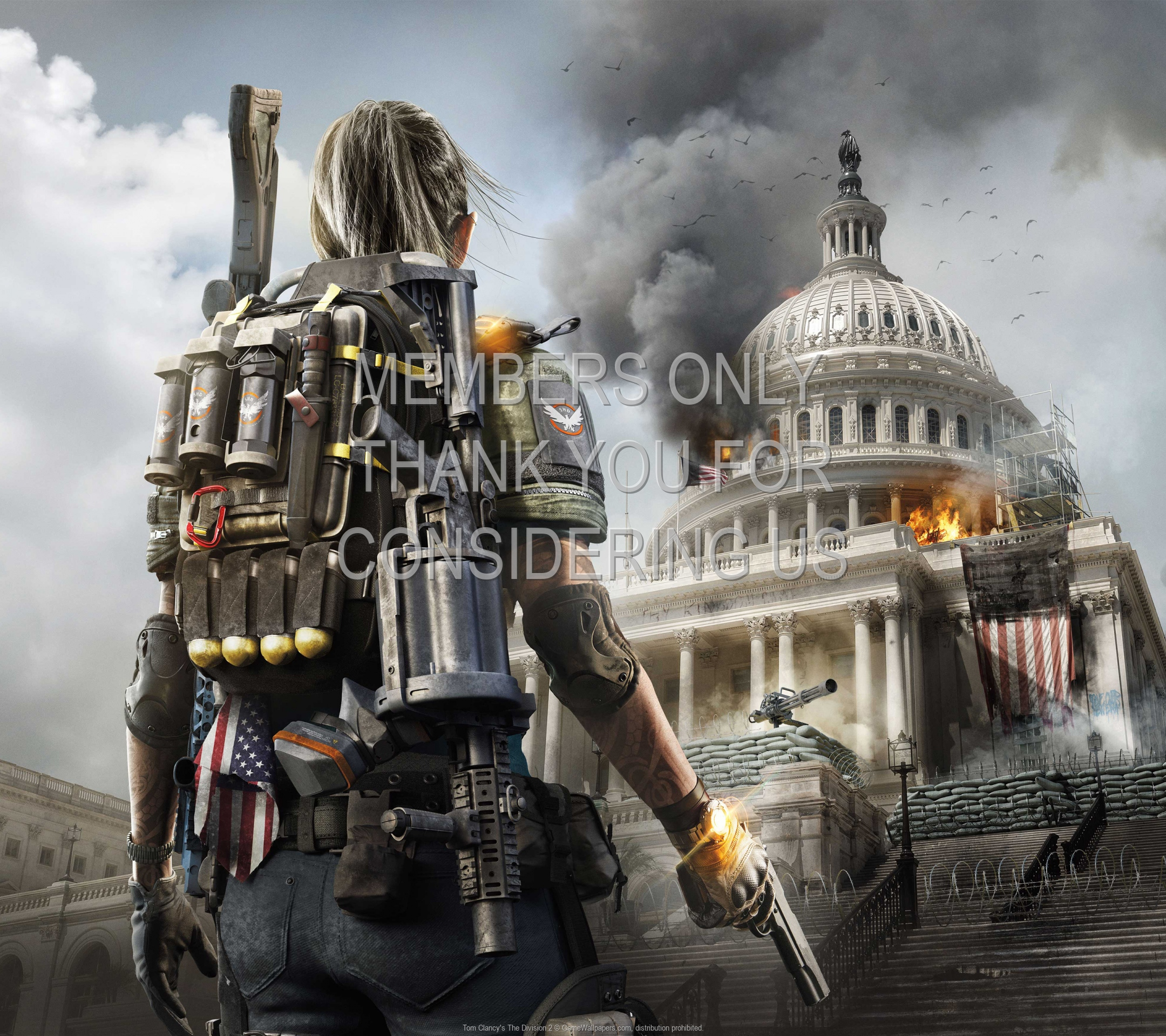 Tom Clancy's The Division 2 1920x1080 Mobile wallpaper or background 04
