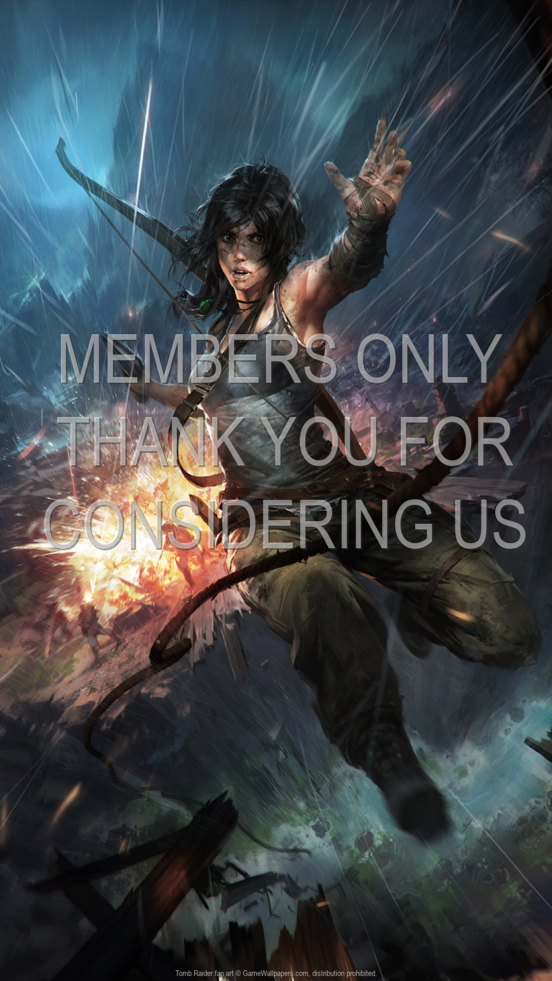 Tomb Raider fan art 1920x1080 Handy Hintergrundbild 04