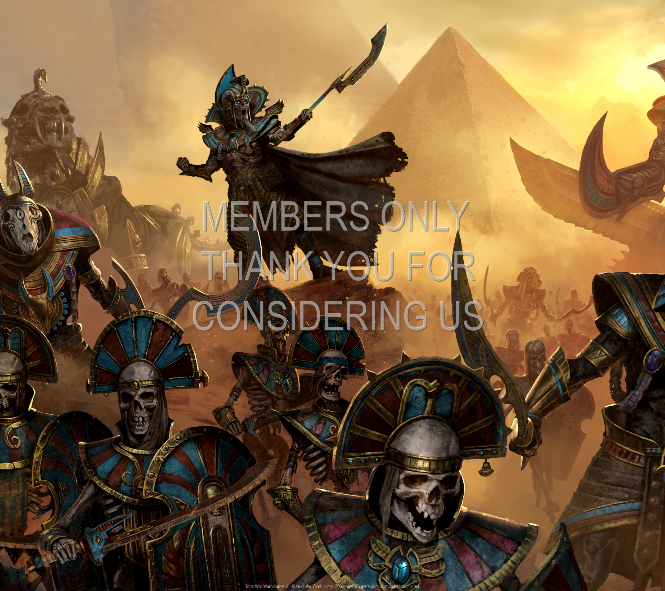 Total War: Warhammer 2 - Rise of the Tomb Kings 1920x1080 Mobile fond d'écran 01