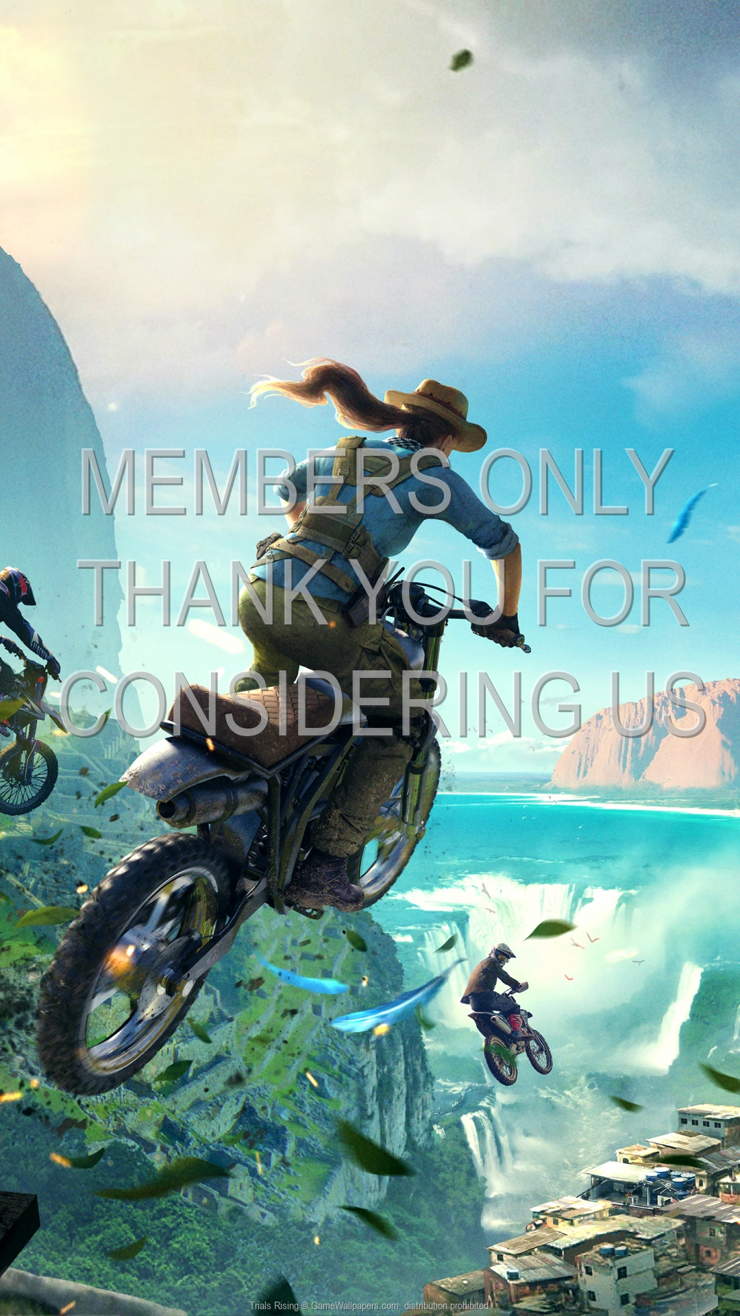 Trials Rising 1920x1080 Mobiele achtergrond 01