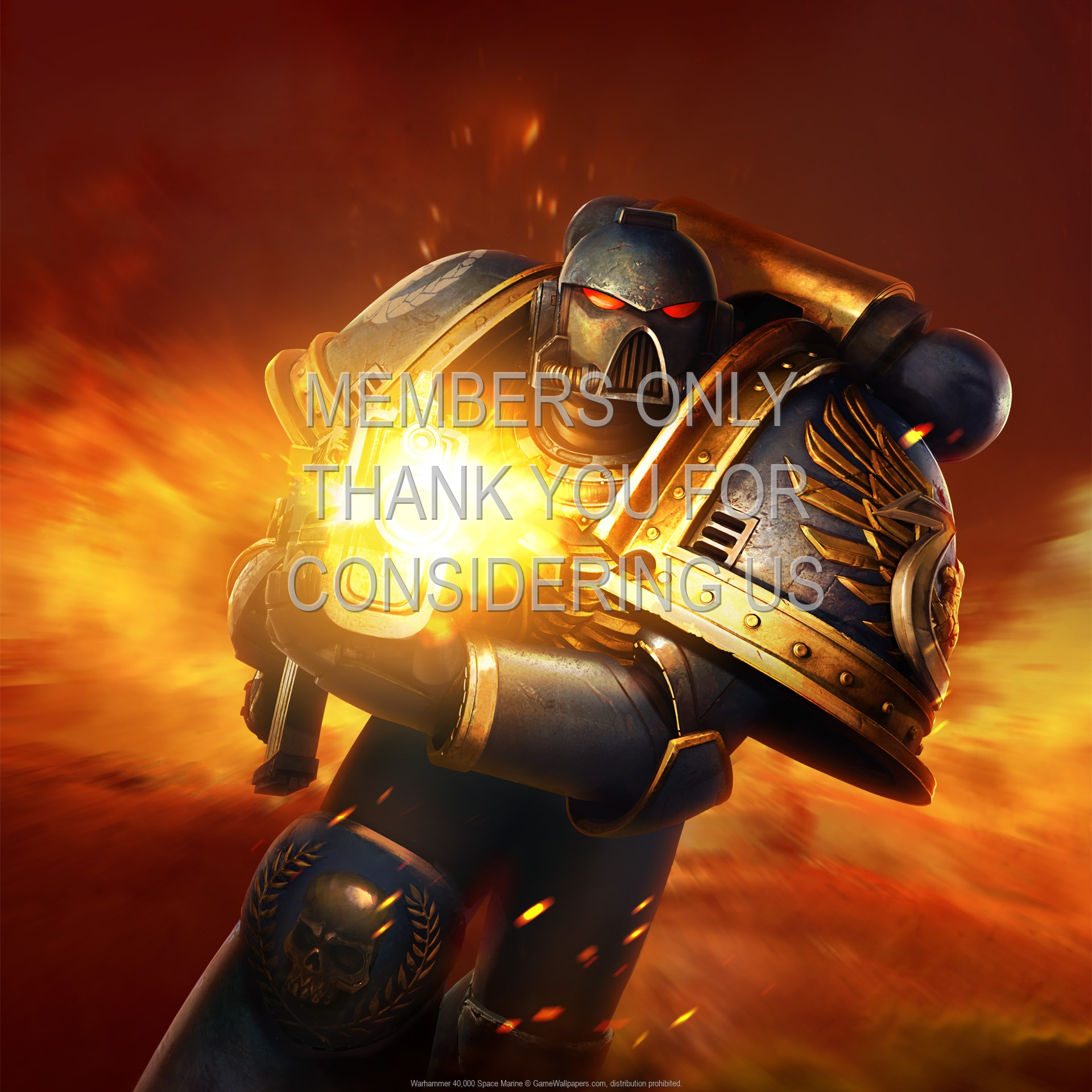 Warhammer 40000 Space Marine Fondo De Escritorio 06 1920x1080