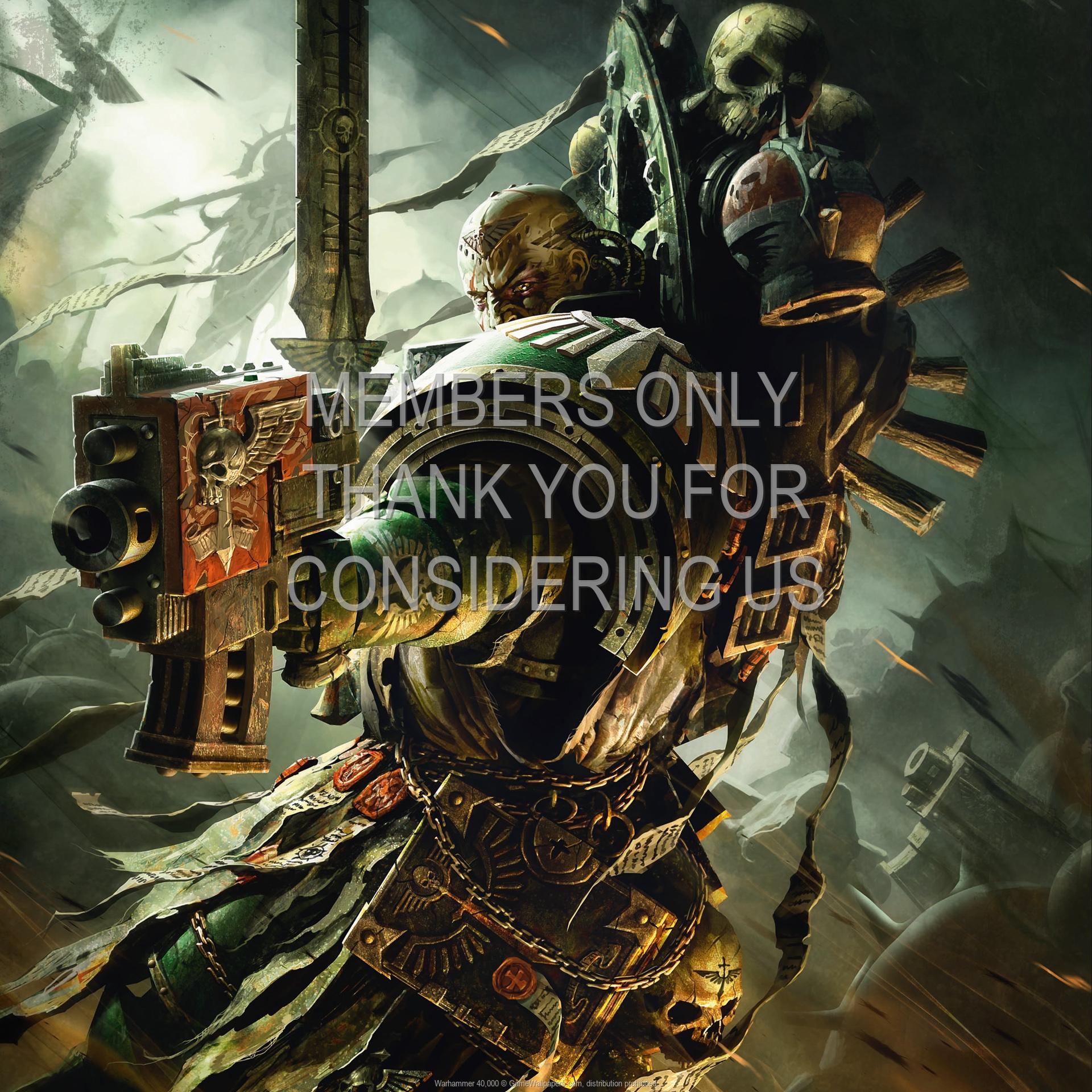 Warhammer 40,000 1920x1080 Handy Hintergrundbild 02