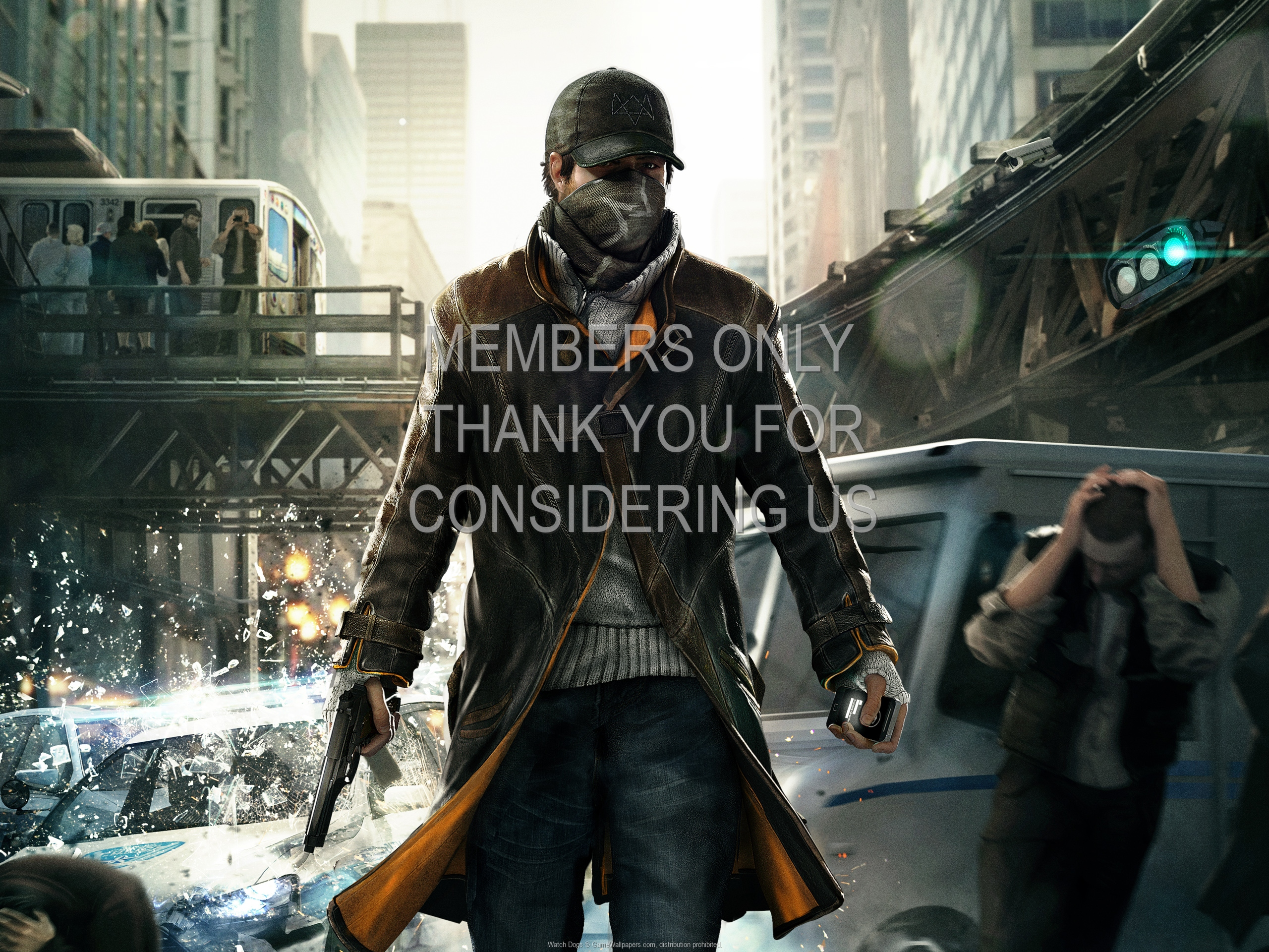 Watch Dogs 1920x1080 Mobile wallpaper or background 06
