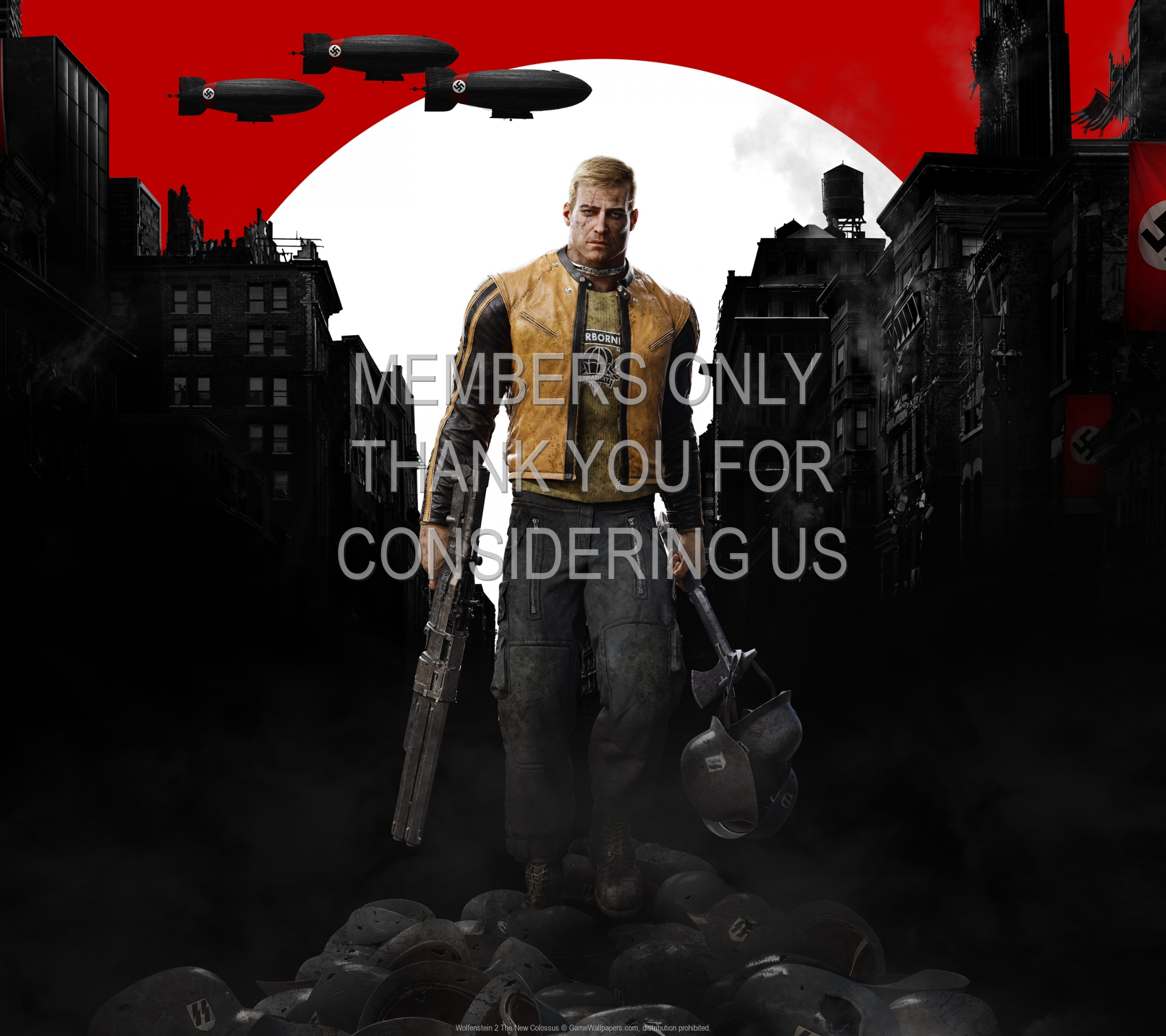 Wolfenstein 2: The New Colossus 1920x1080 Mobile wallpaper or background 01