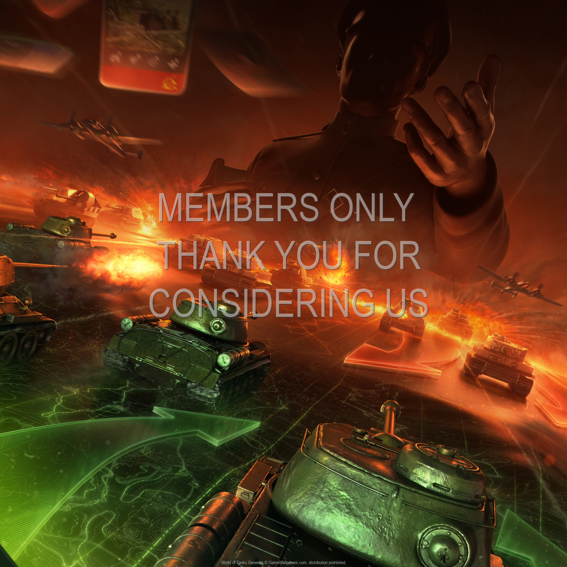 World of Tanks: Generals 1920x1080 Handy Hintergrundbild 01