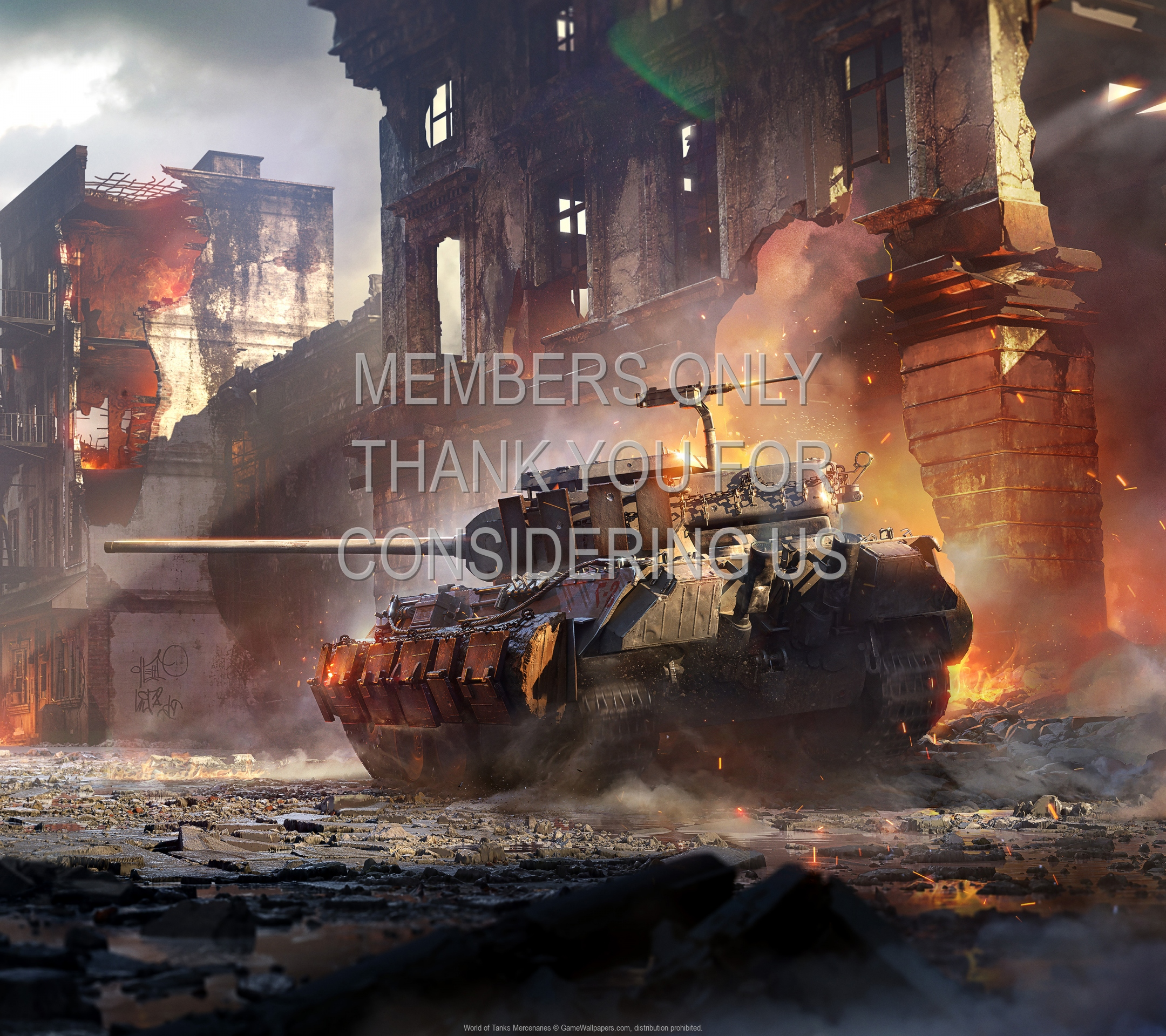 World of Tanks: Mercenaries 1920x1080 Handy Hintergrundbild 01