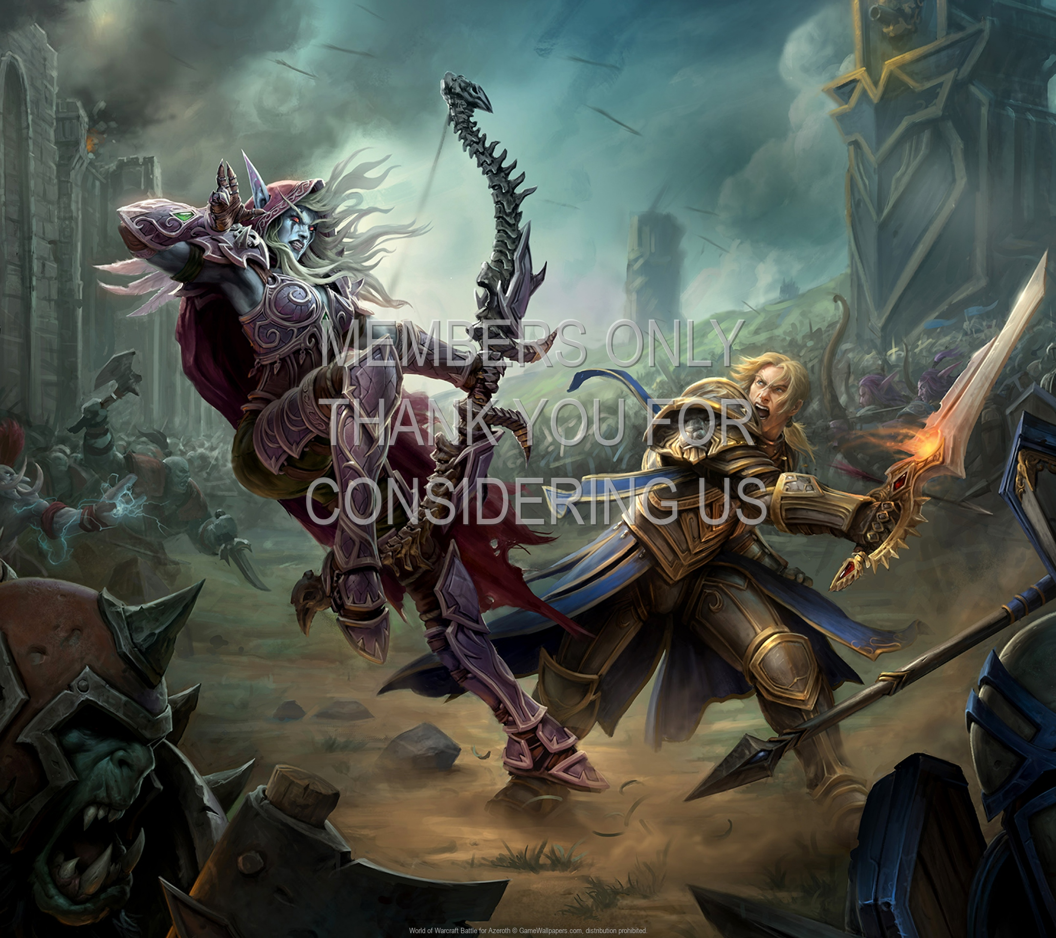 World of Warcraft: Battle for Azeroth 1920x1080 Mobile fond d'écran 04