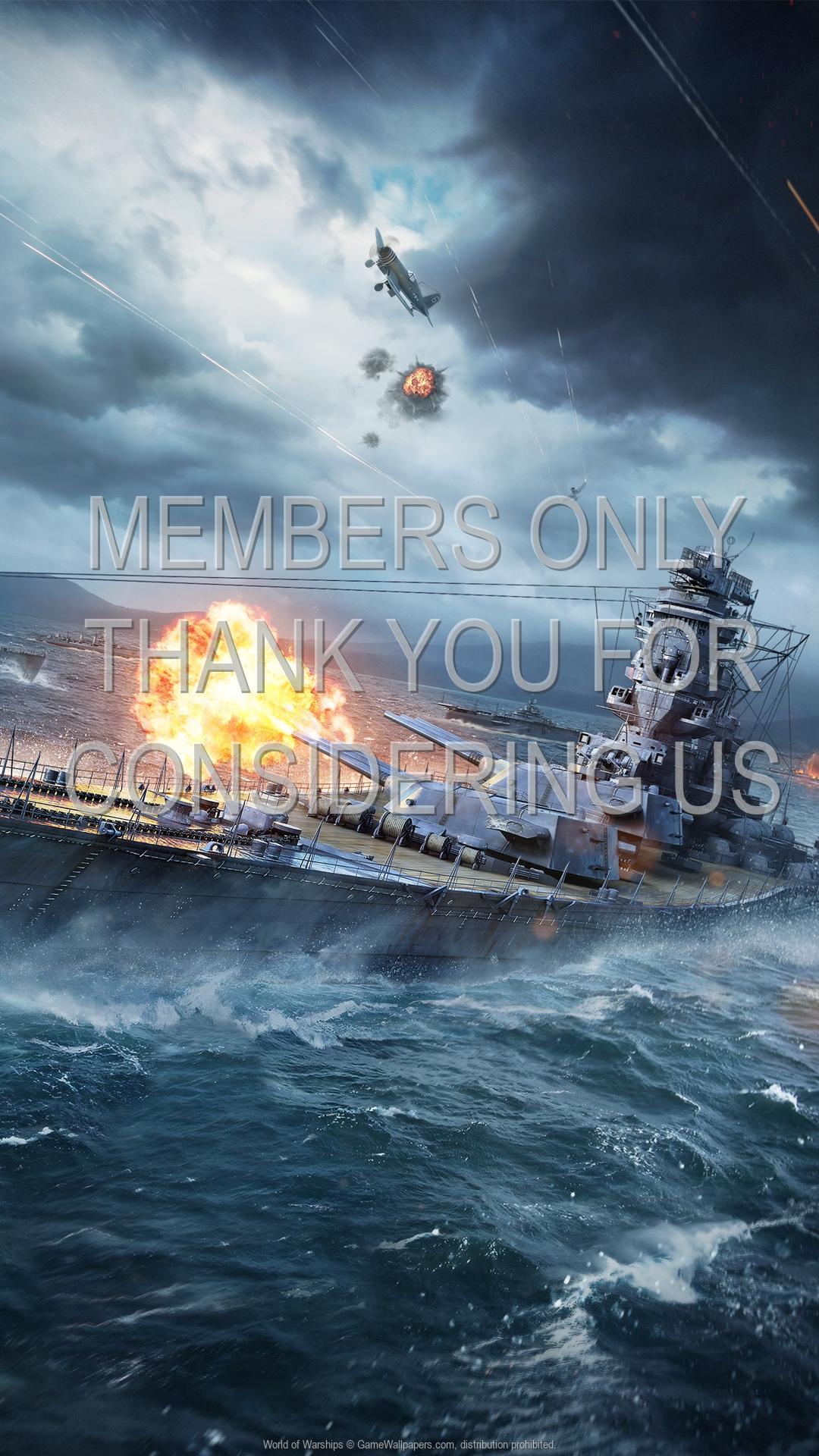 World of Warships 1920x1080 Handy Hintergrundbild 04