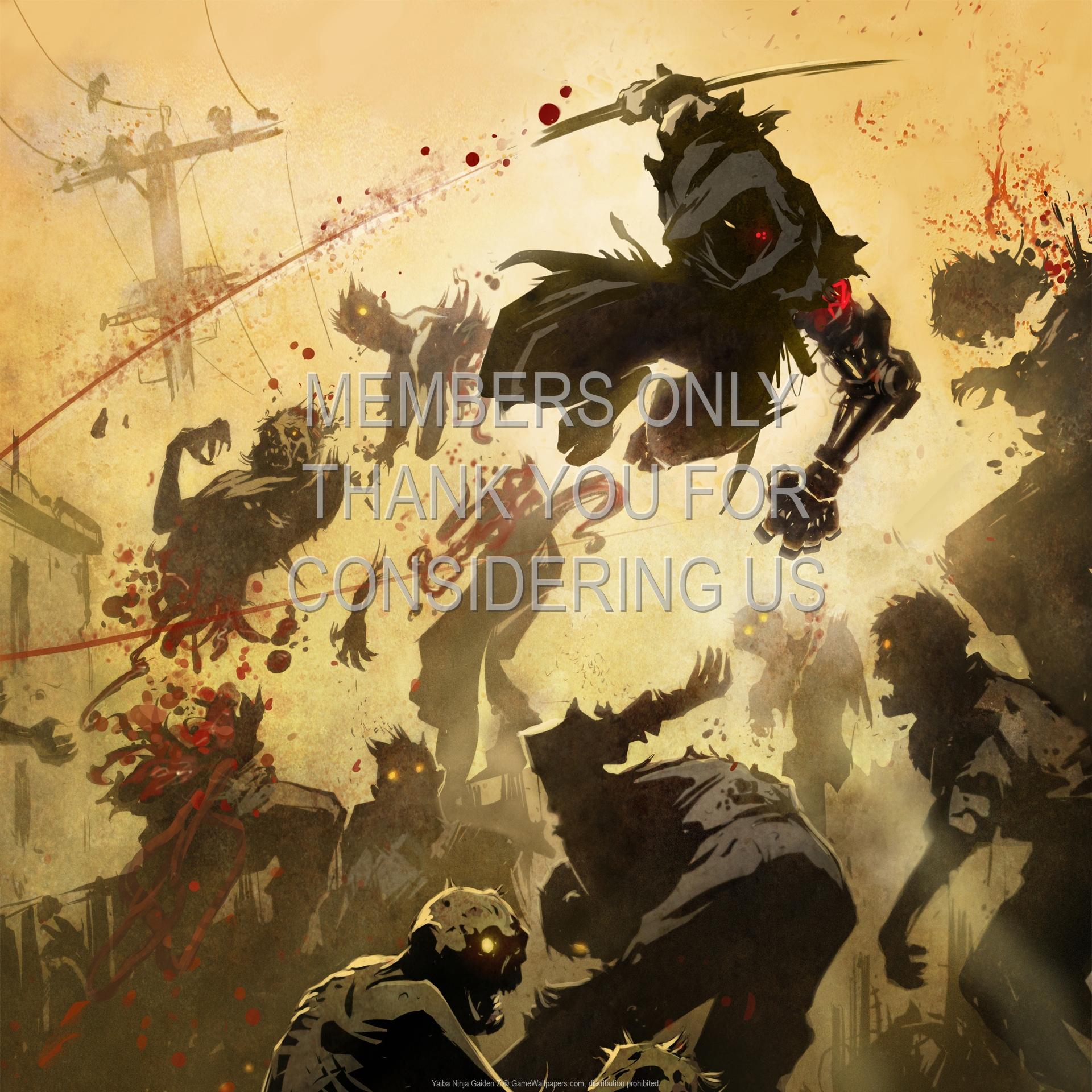Yaiba: Ninja Gaiden Z 1920x1080 Handy Hintergrundbild 01