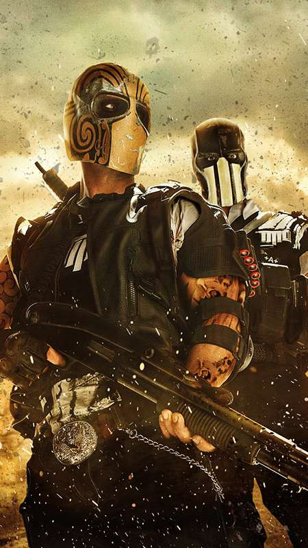 Army of Two: The Devil's Cartel Mobile Vertical wallpaper or background
