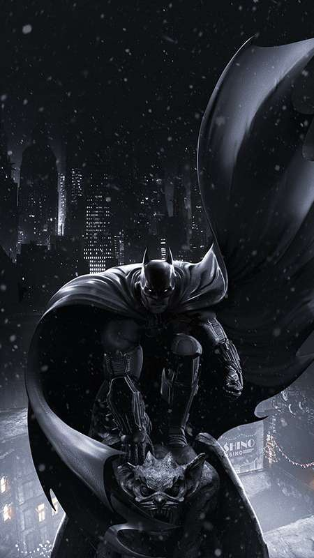 Batman: Arkham Origins Mobile Vertical wallpaper or background