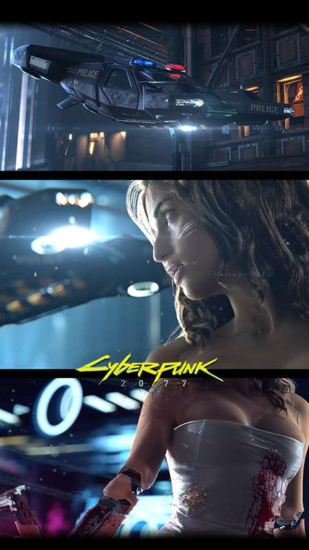 Cyberpunk 2077 Mobile Vertical wallpaper or background