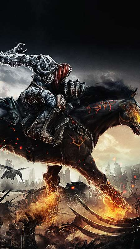 Darksiders: Wrath of War Mobile Vertical wallpaper or background